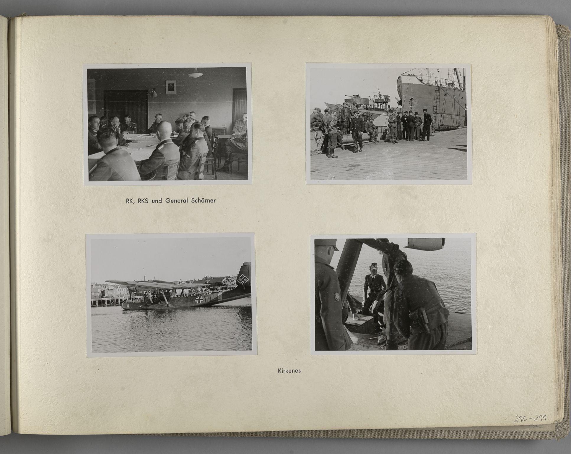 RA, Tyske arkiver, Reichskommissariat, Bildarchiv, U/L0071: Fotoalbum: Mit dem Reichskommissar nach Nordnorwegen und Finnland 10. bis 27. Juli 1942, 1942, s. 115