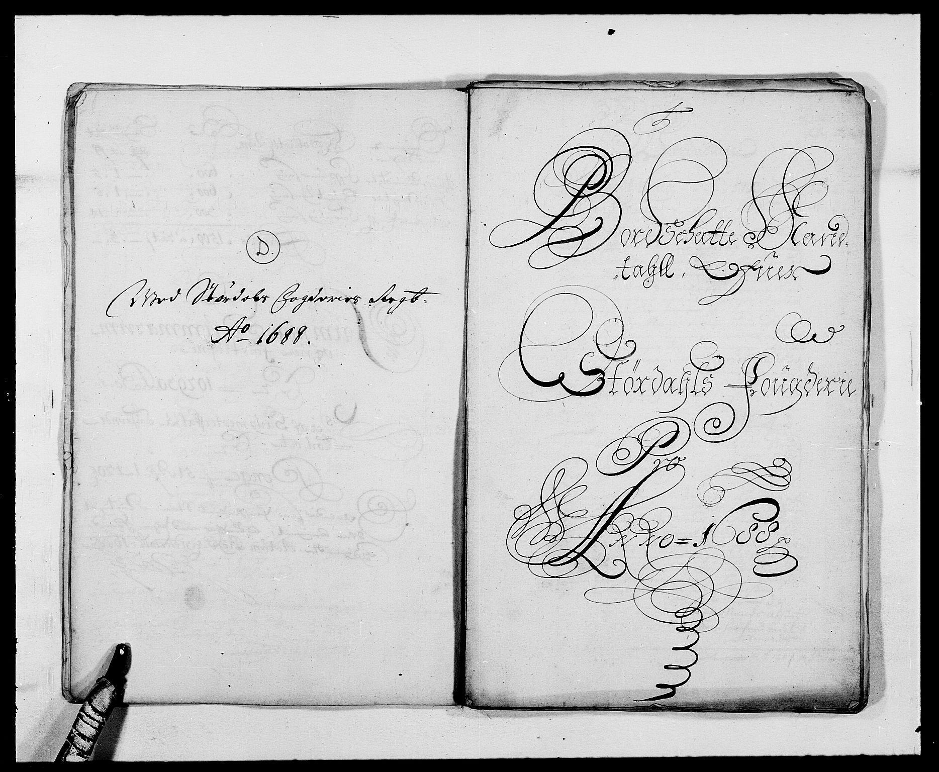 RA, Rentekammeret inntil 1814, Reviderte regnskaper, Fogderegnskap, R62/L4183: Fogderegnskap Stjørdal og Verdal, 1687-1689, s. 207