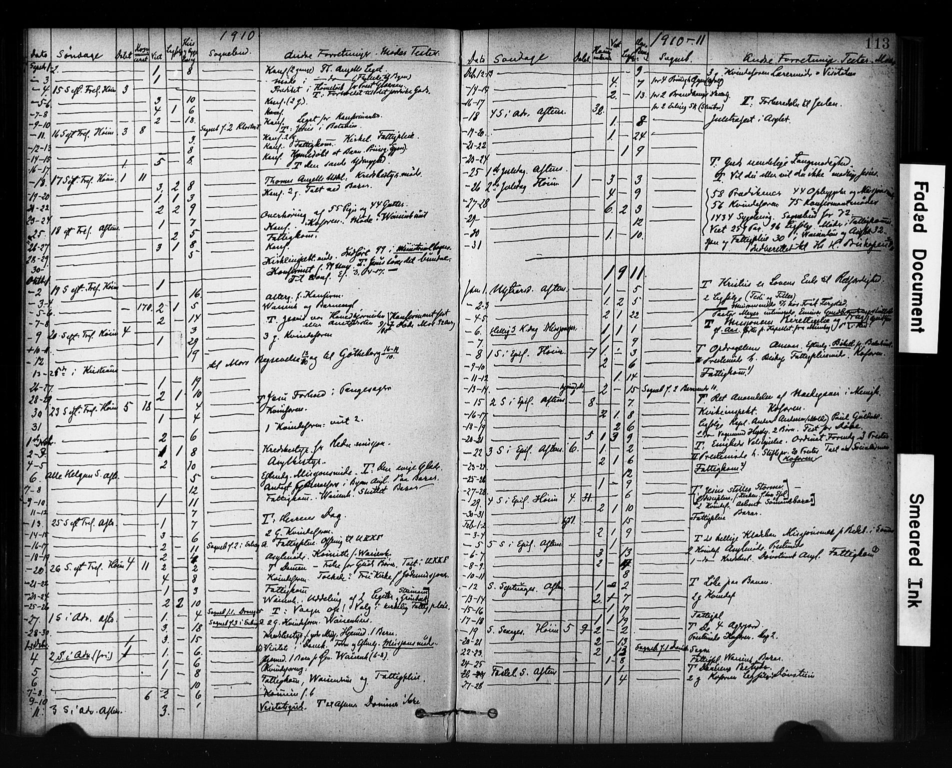 SAT, Ministerialprotokoller, klokkerbøker og fødselsregistre - Sør-Trøndelag, 601/L0071: Residerende kapellans bok nr. 601B04, 1882-1931, s. 113