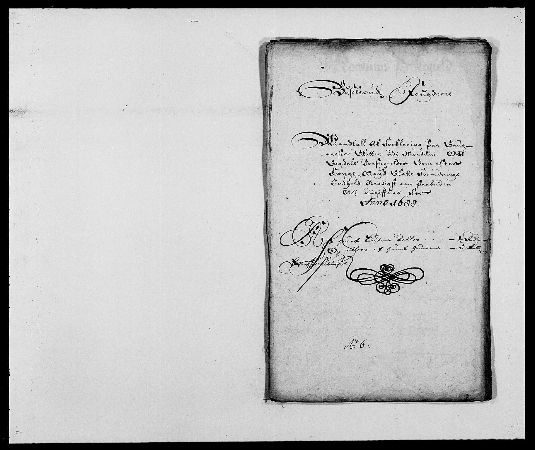 RA, Rentekammeret inntil 1814, Reviderte regnskaper, Fogderegnskap, R25/L1679: Fogderegnskap Buskerud, 1687-1688, s. 430