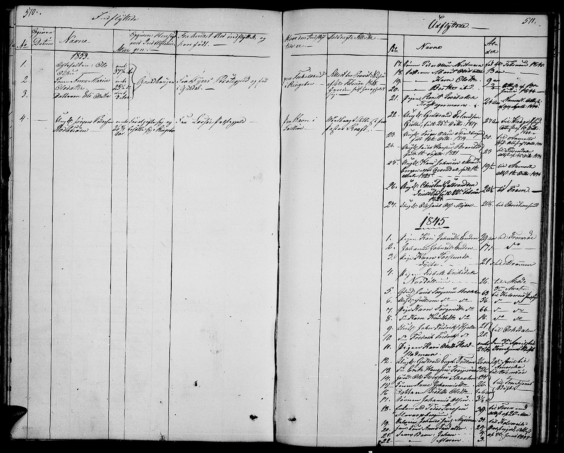 SAH, Ringebu prestekontor, Klokkerbok nr. 2, 1839-1853, s. 510-511