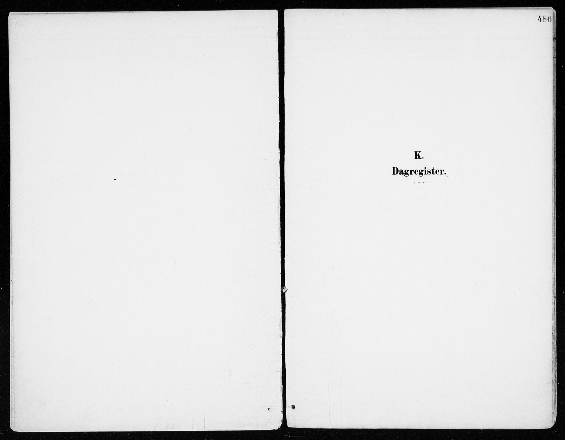 SAH, Vang prestekontor, Hedmark, H/Ha/Haa/L0021: Ministerialbok nr. 21, 1902-1917, s. 486
