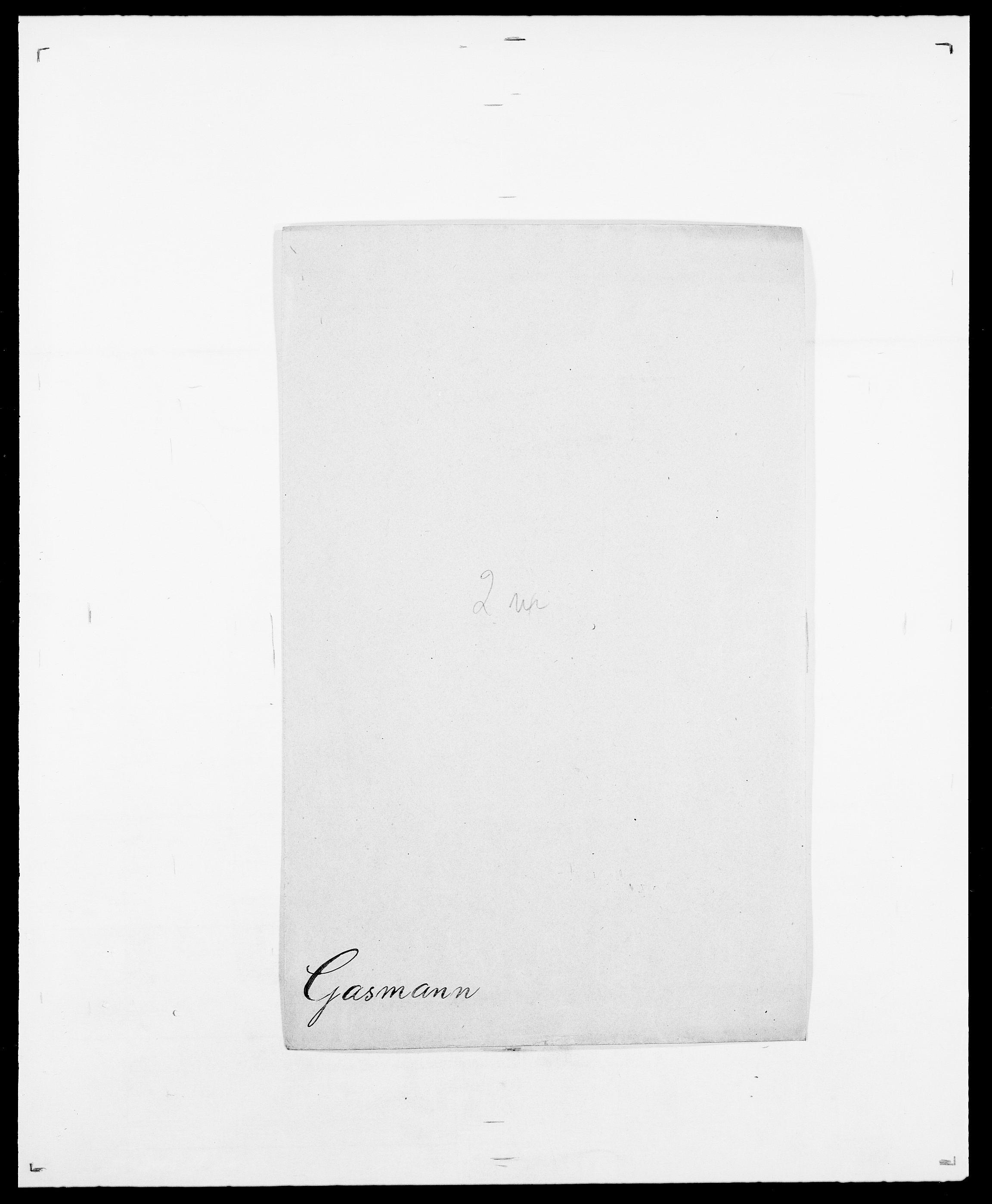 SAO, Delgobe, Charles Antoine - samling, D/Da/L0013: Forbos - Geving, s. 539