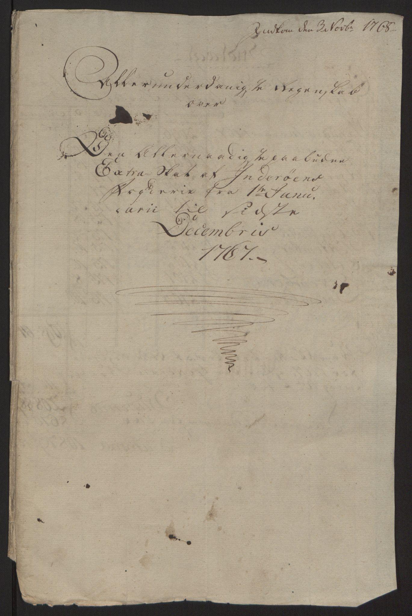 RA, Rentekammeret inntil 1814, Reviderte regnskaper, Fogderegnskap, R63/L4420: Ekstraskatten Inderøy, 1762-1772, s. 214