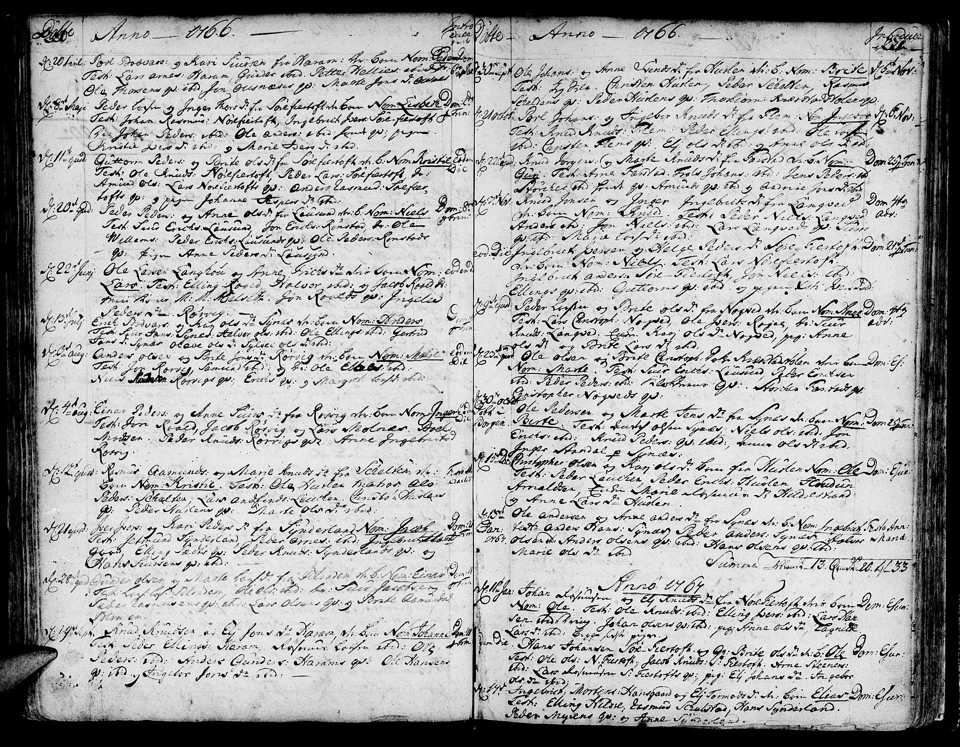 SAT, Ministerialprotokoller, klokkerbøker og fødselsregistre - Møre og Romsdal, 536/L0493: Ministerialbok nr. 536A02, 1739-1802, s. 220-221