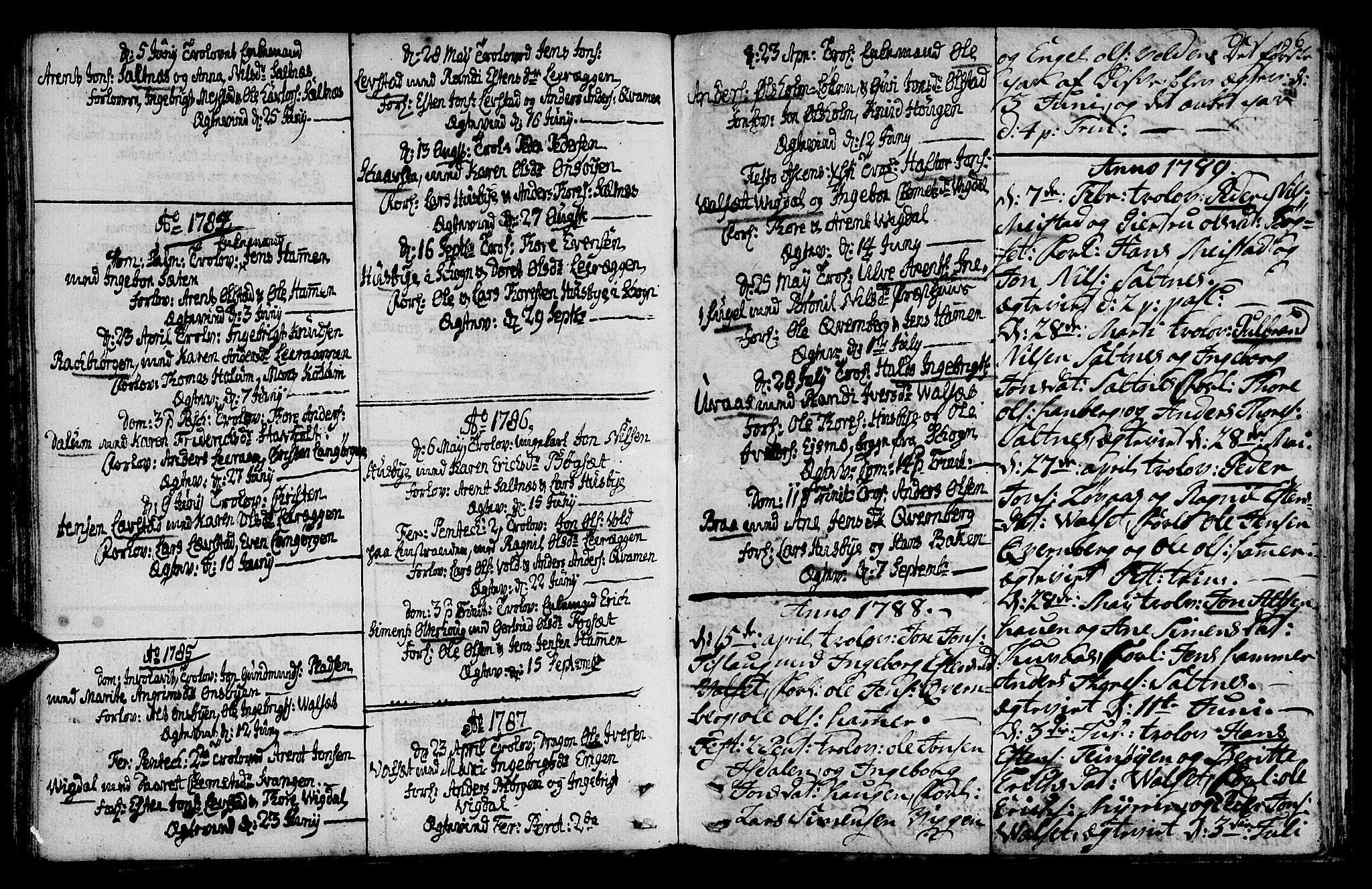 SAT, Ministerialprotokoller, klokkerbøker og fødselsregistre - Sør-Trøndelag, 666/L0784: Ministerialbok nr. 666A02, 1754-1802, s. 96