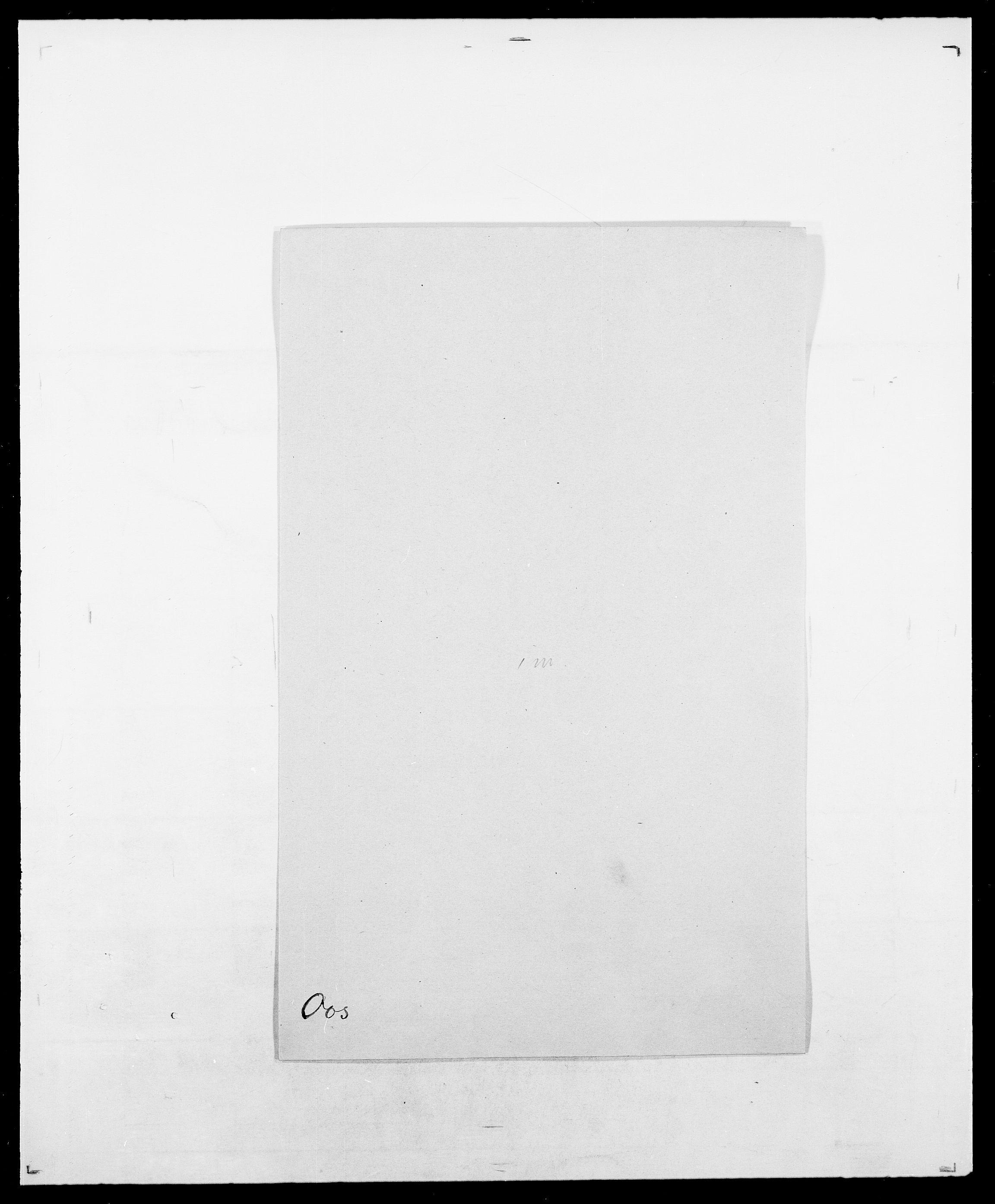 SAO, Delgobe, Charles Antoine - samling, D/Da/L0029: Obel - Oxholm, s. 304