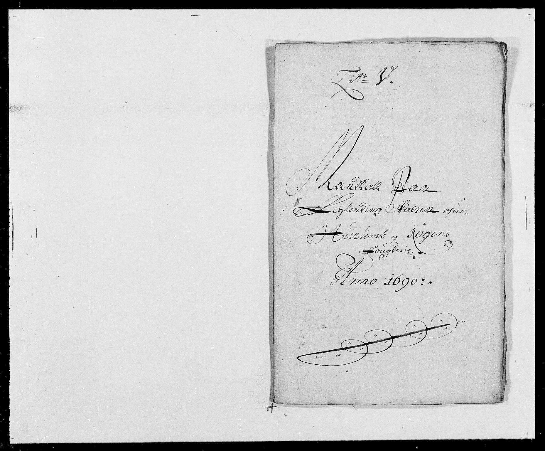 RA, Rentekammeret inntil 1814, Reviderte regnskaper, Fogderegnskap, R29/L1693: Fogderegnskap Hurum og Røyken, 1688-1693, s. 154