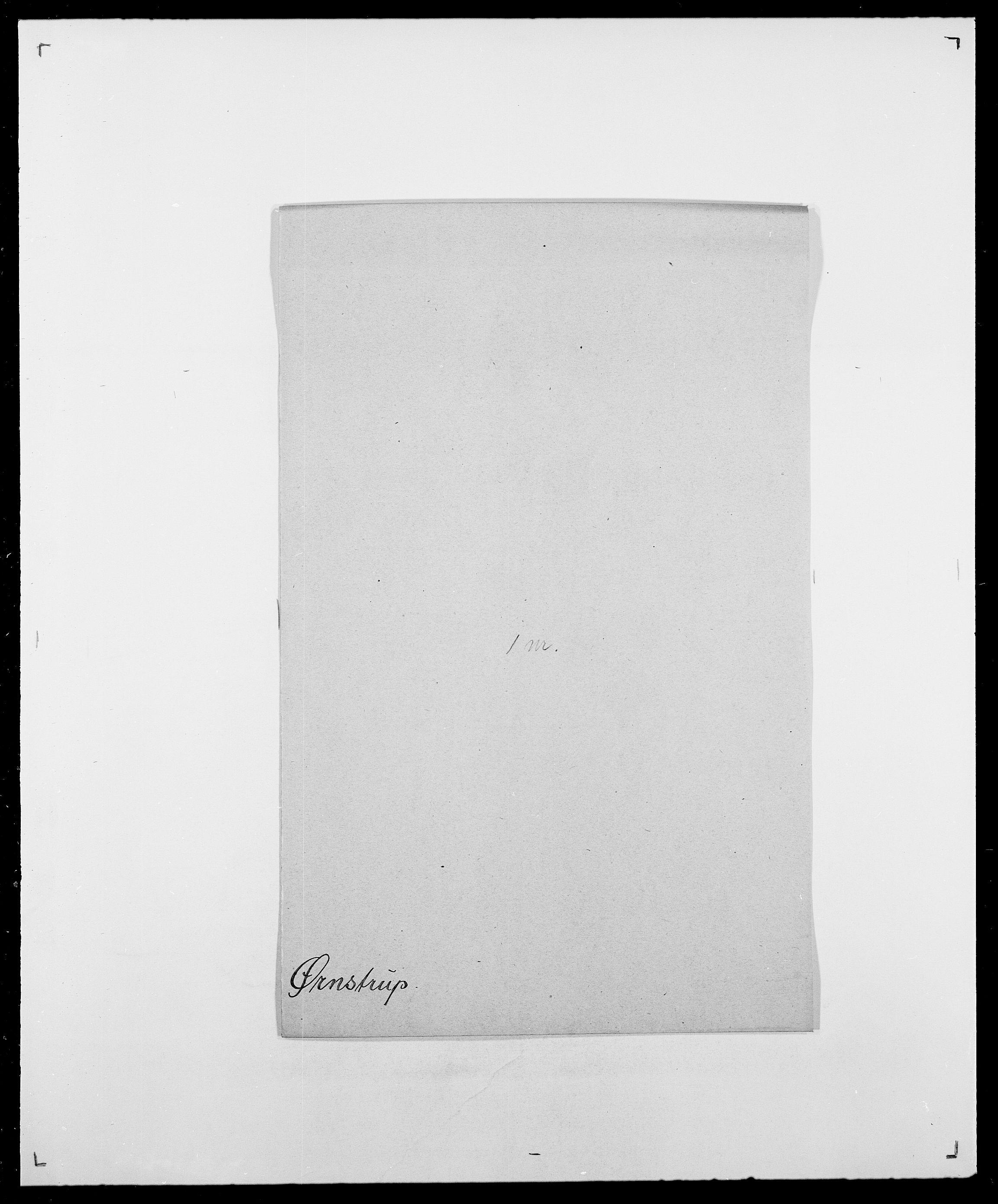 SAO, Delgobe, Charles Antoine - samling, D/Da/L0043: Wulfsberg - v. Zanten, s. 308