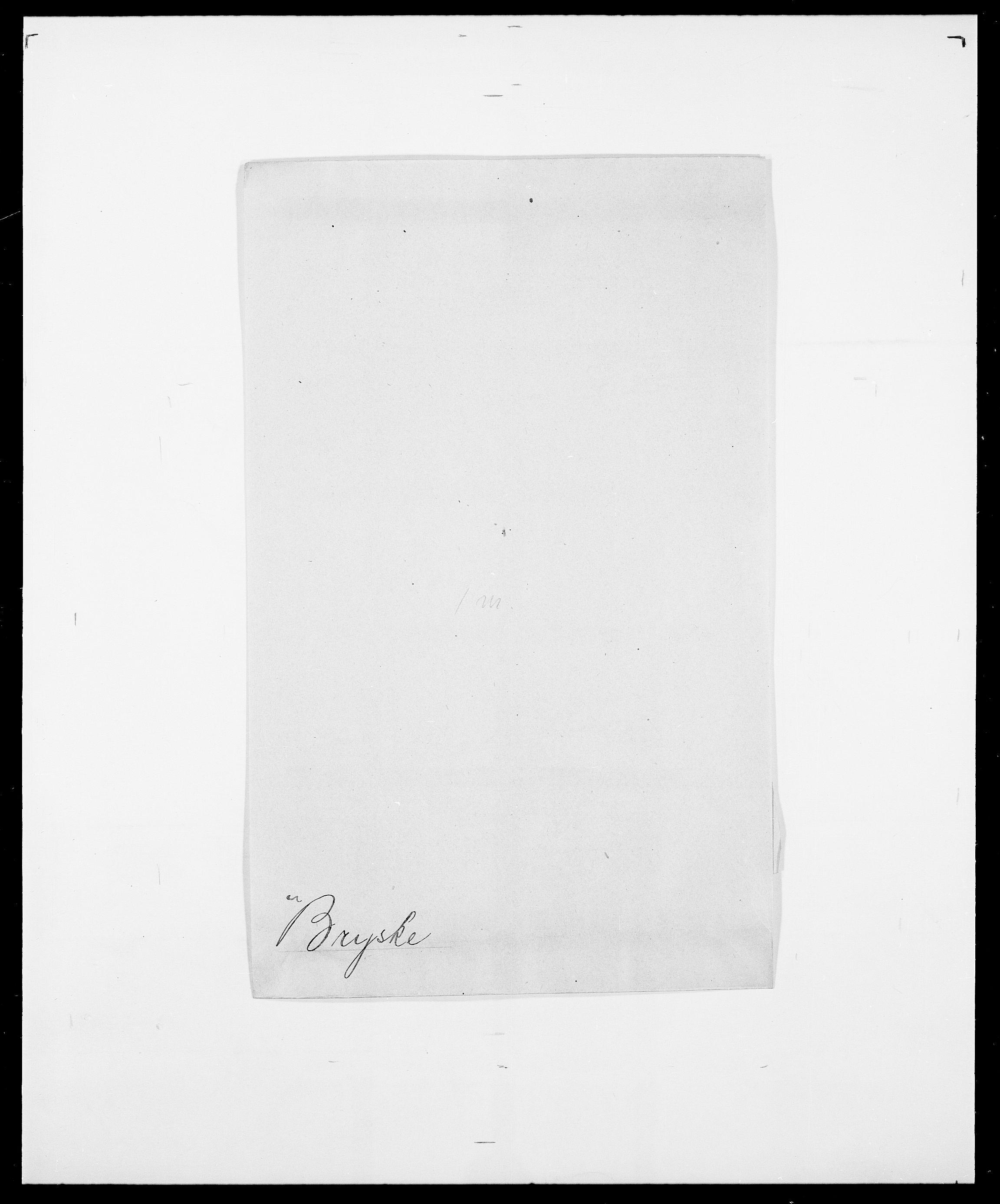SAO, Delgobe, Charles Antoine - samling, D/Da/L0006: Brambani - Brønø, s. 926