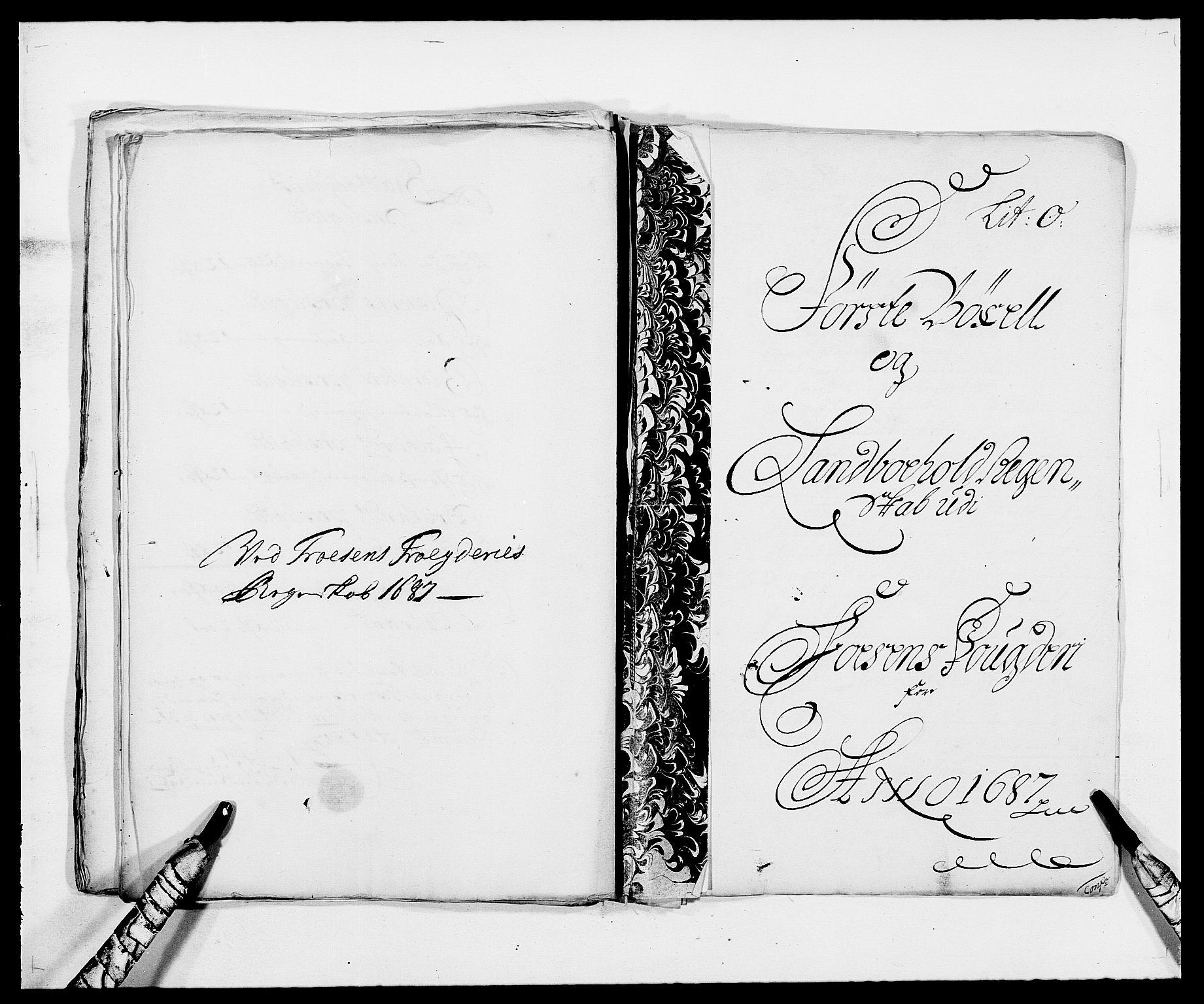 RA, Rentekammeret inntil 1814, Reviderte regnskaper, Fogderegnskap, R57/L3845: Fogderegnskap Fosen, 1687, s. 138