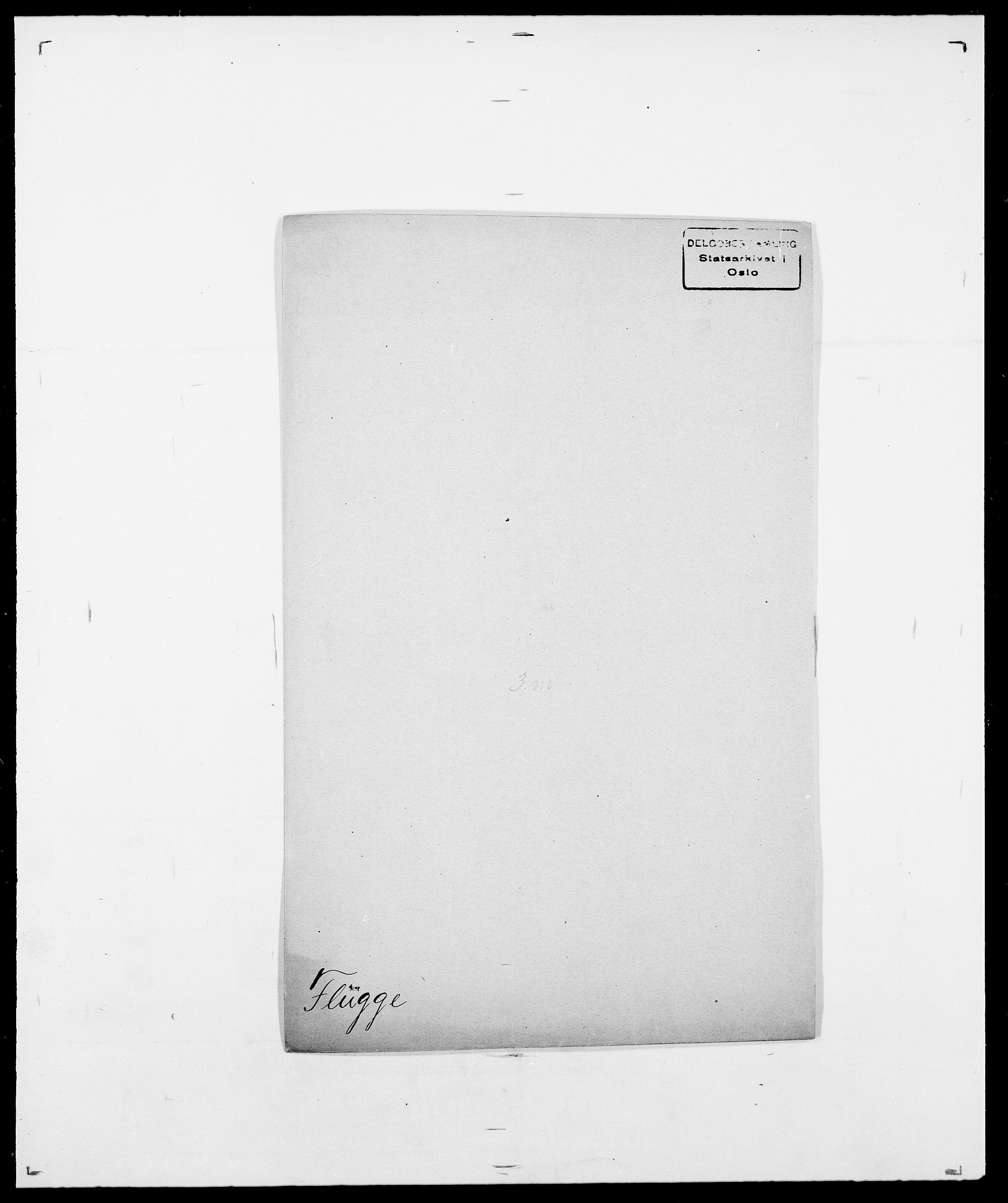 SAO, Delgobe, Charles Antoine - samling, D/Da/L0012: Flor, Floer, Flohr - Fritzner, s. 493