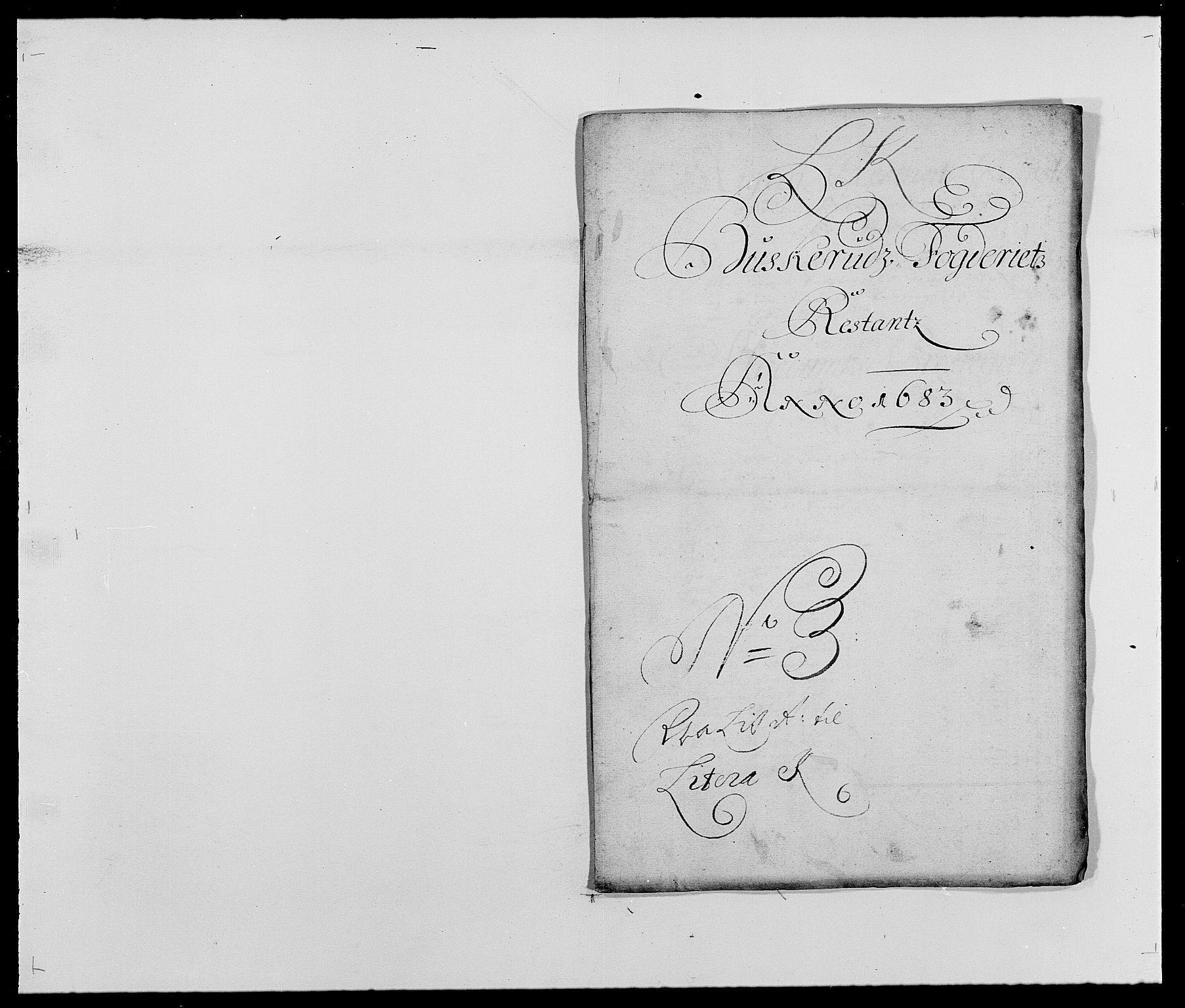 RA, Rentekammeret inntil 1814, Reviderte regnskaper, Fogderegnskap, R25/L1677: Fogderegnskap Buskerud, 1683-1684, s. 173