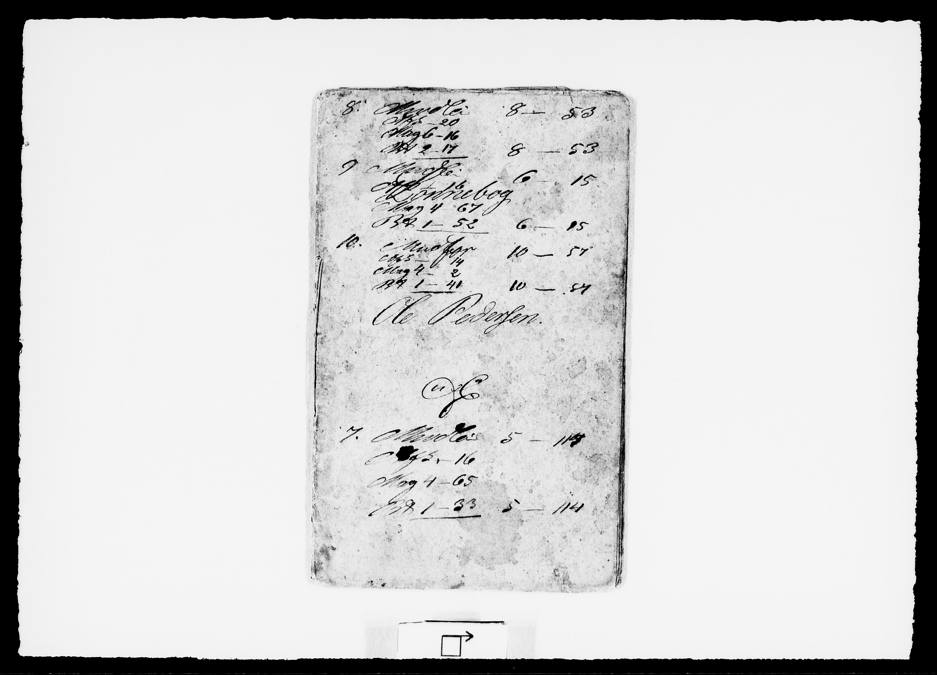 RA, Modums Blaafarveværk, G/Gd/Gdd/L0298, 1840-1841, s. 2