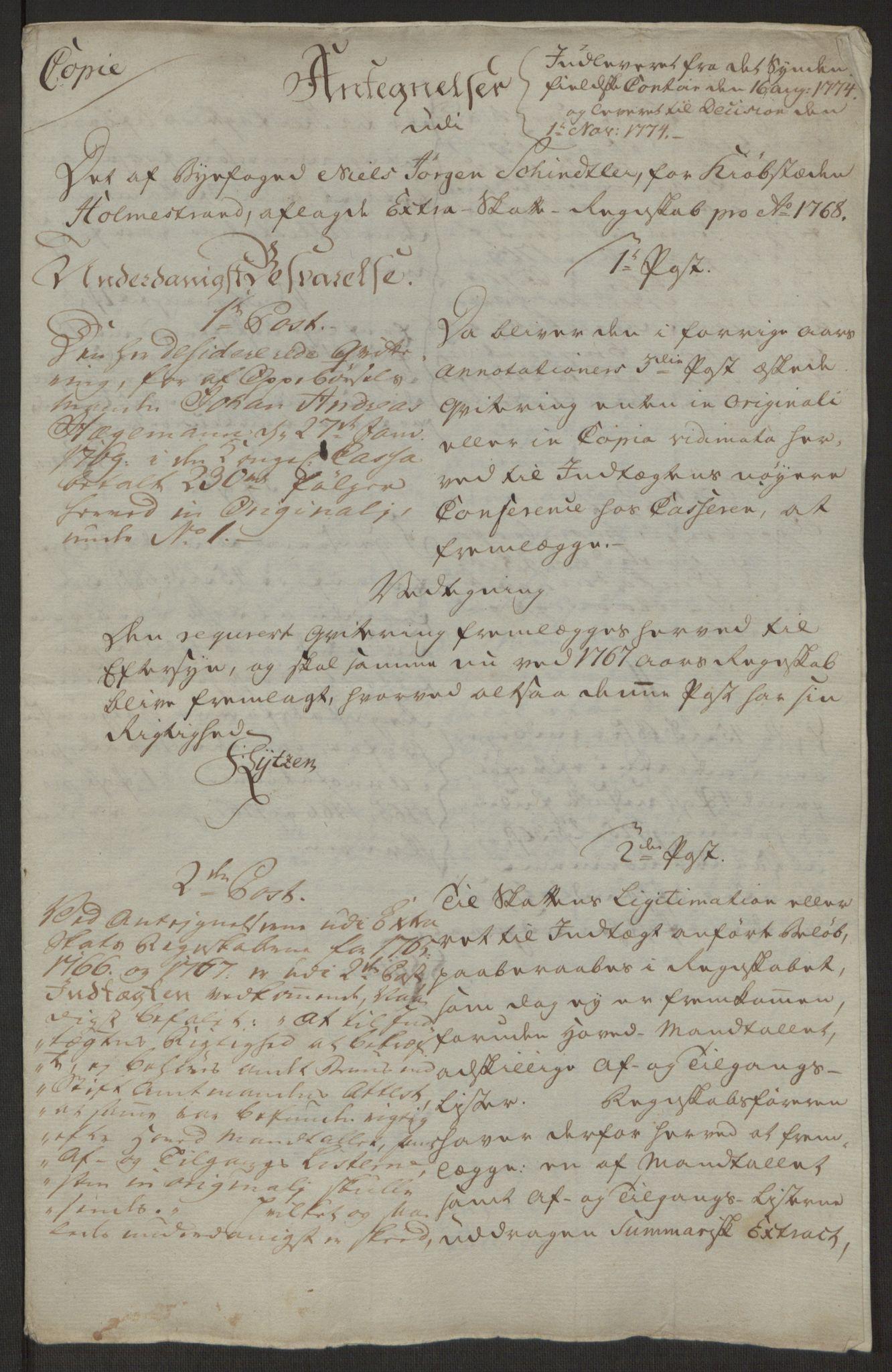 RA, Rentekammeret inntil 1814, Reviderte regnskaper, Byregnskaper, R/Rh/L0163: [H4] Kontribusjonsregnskap, 1762-1772, s. 385