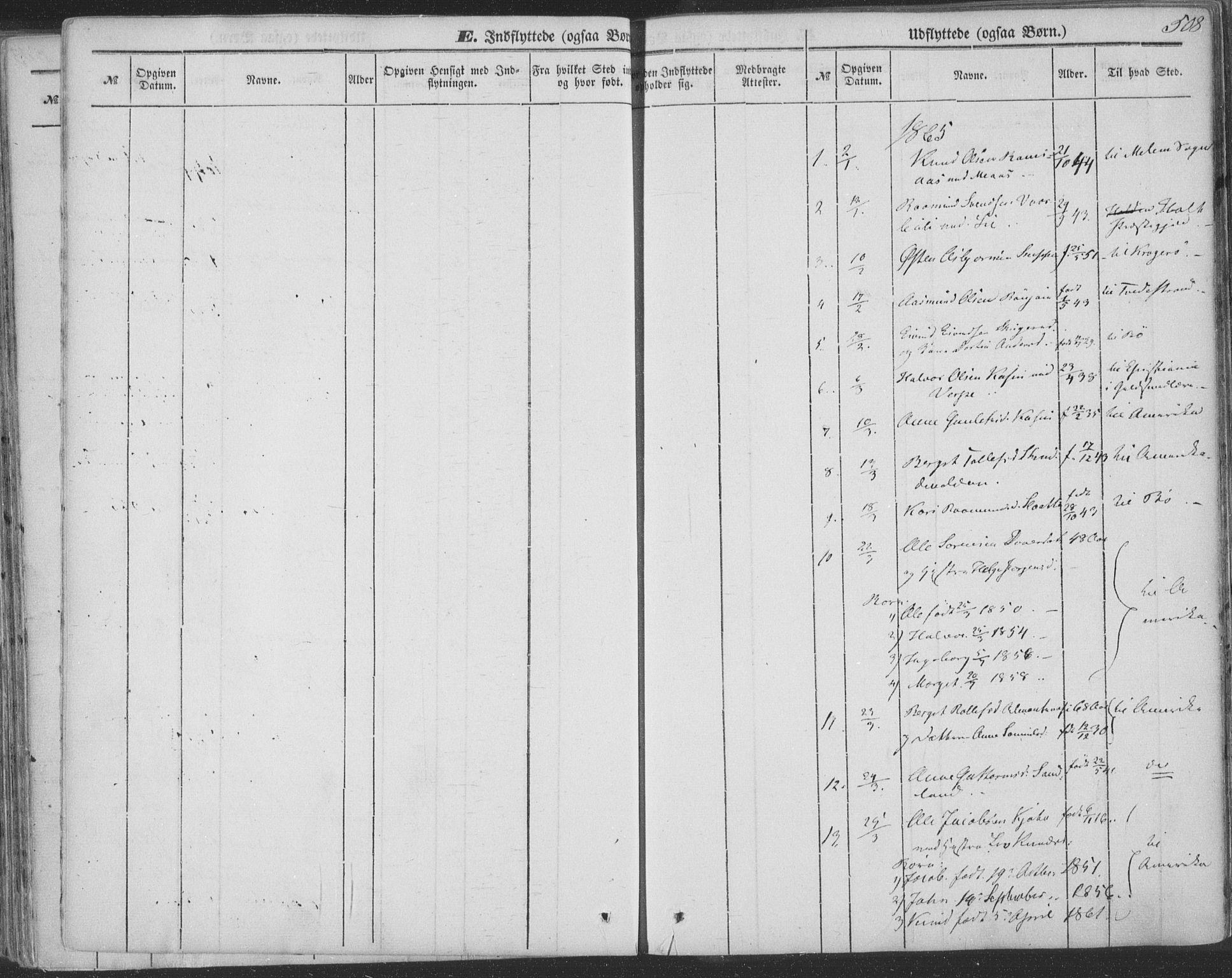SAKO, Seljord kirkebøker, F/Fa/L012b: Ministerialbok nr. I 12B, 1850-1865, s. 508