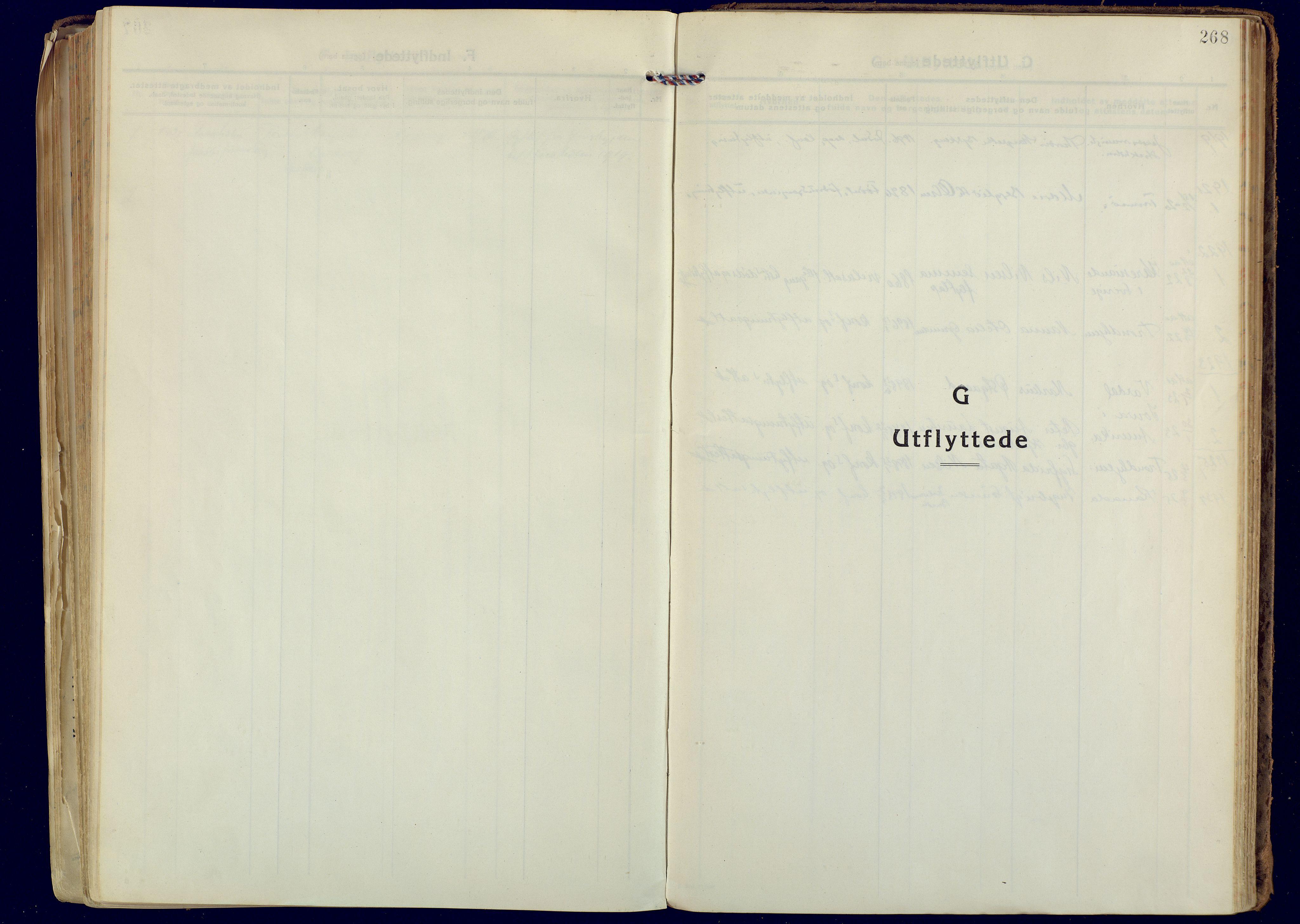 SATØ, Målselv sokneprestembete, Ministerialbok nr. 14, 1919-1932, s. 268