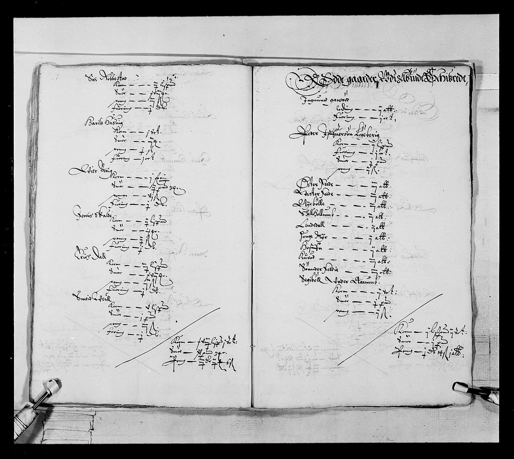 RA, Stattholderembetet 1572-1771, Ek/L0022: Jordebøker 1633-1658:, 1646-1647, s. 27