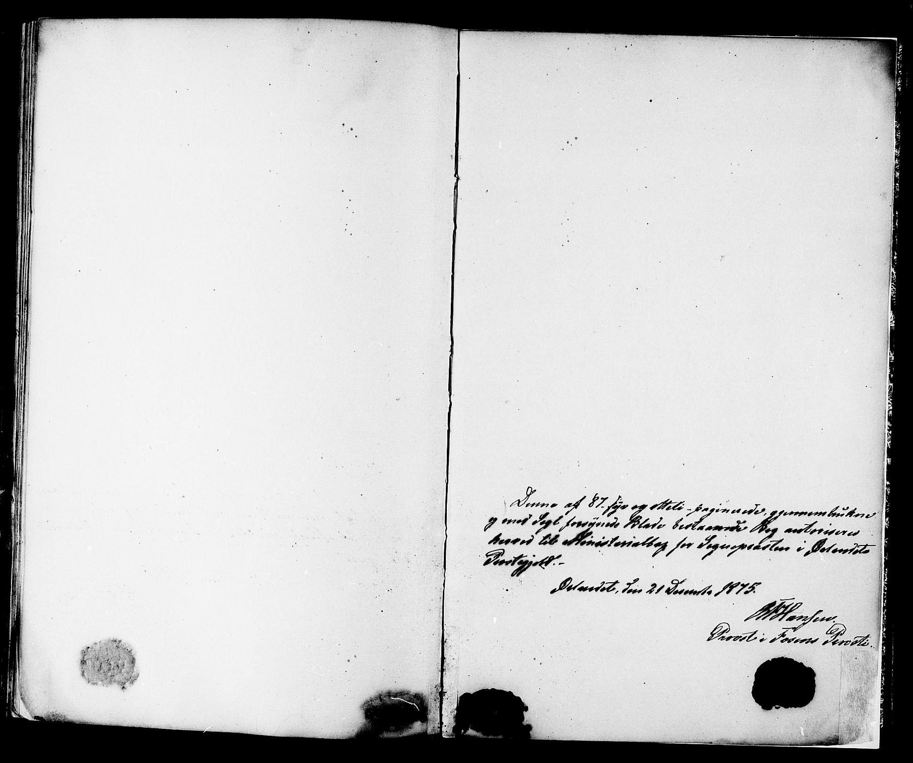 SAT, Ministerialprotokoller, klokkerbøker og fødselsregistre - Sør-Trøndelag, 659/L0738: Ministerialbok nr. 659A08, 1876-1878