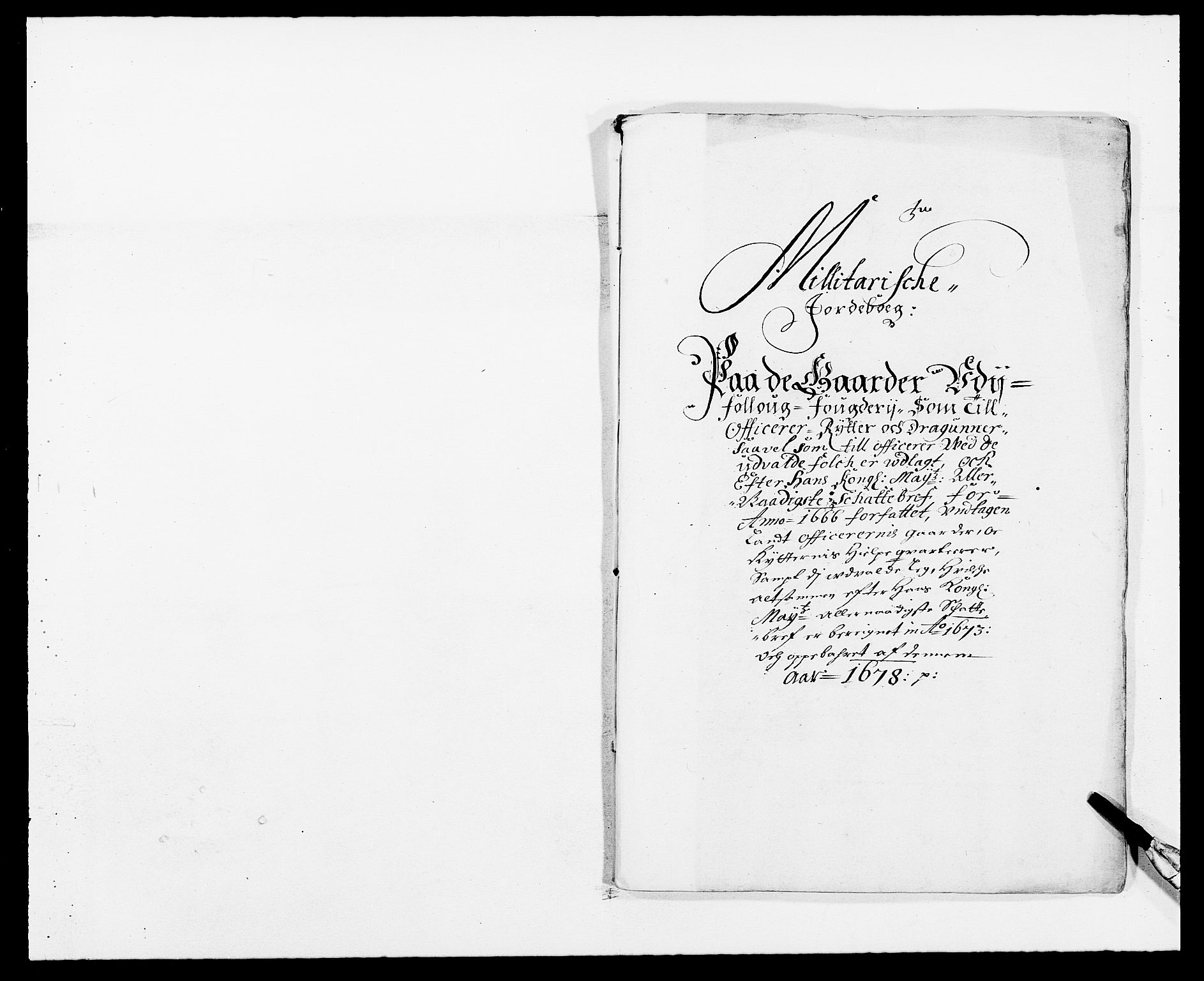 RA, Rentekammeret inntil 1814, Reviderte regnskaper, Fogderegnskap, R09/L0427: Fogderegnskap Follo, 1678, s. 223