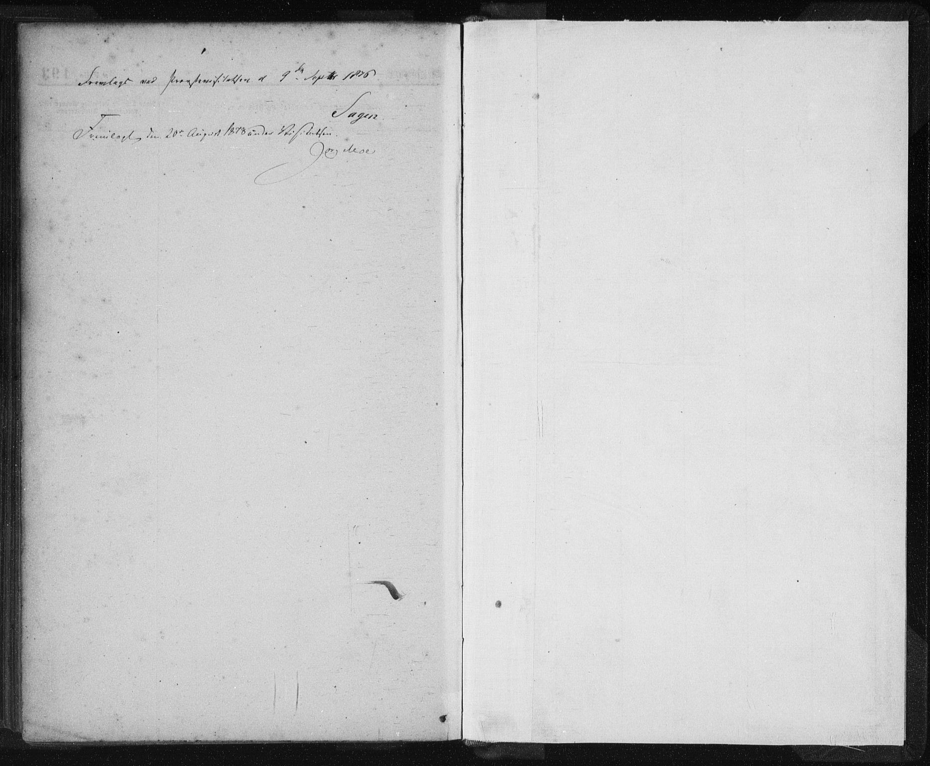 SAST, St. Petri sokneprestkontor, 30/30BA/L0013: Ministerialbok nr. A 13, 1875-1878