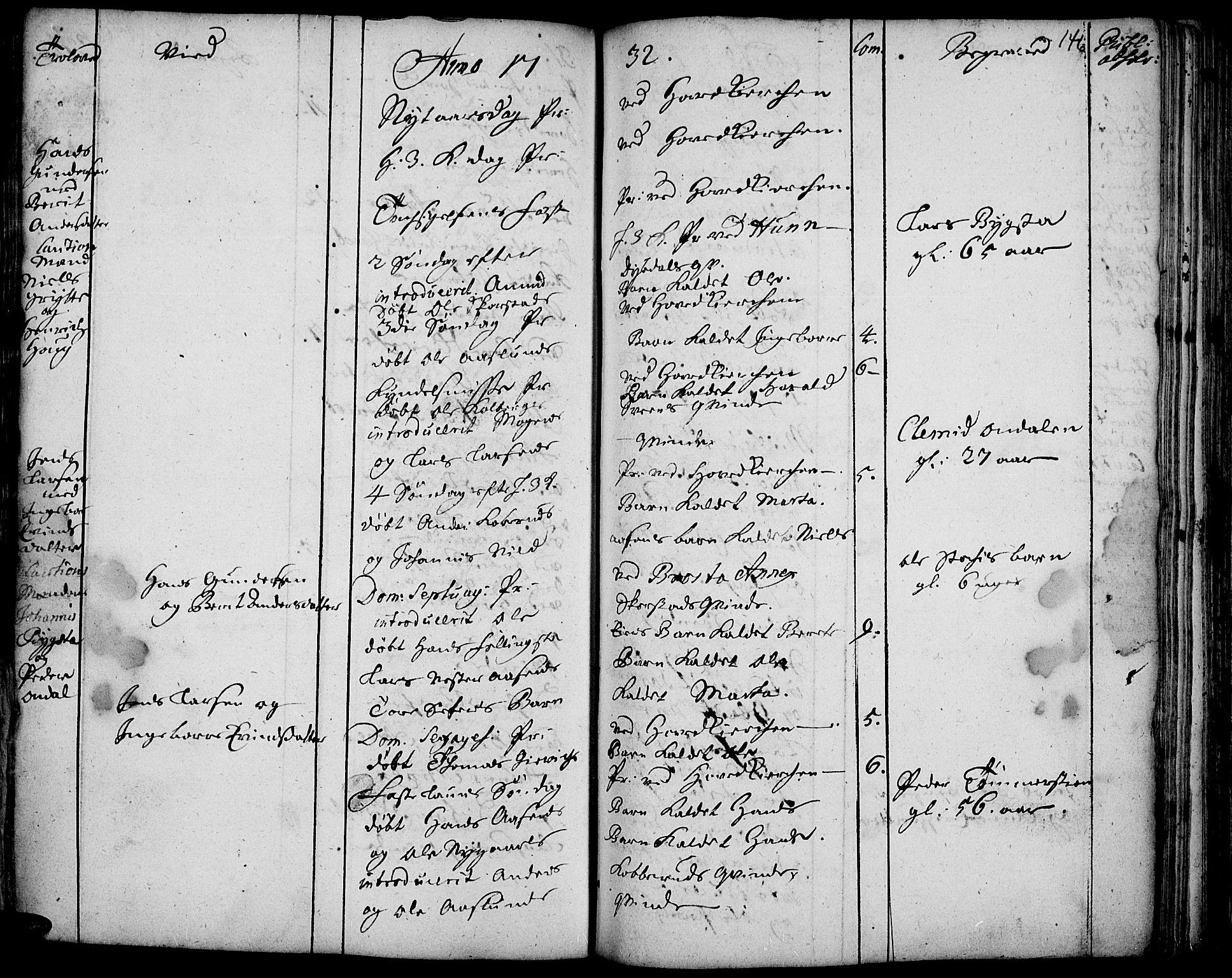 SAH, Vardal prestekontor, H/Ha/Haa/L0001: Ministerialbok nr. 1, 1706-1748, s. 146