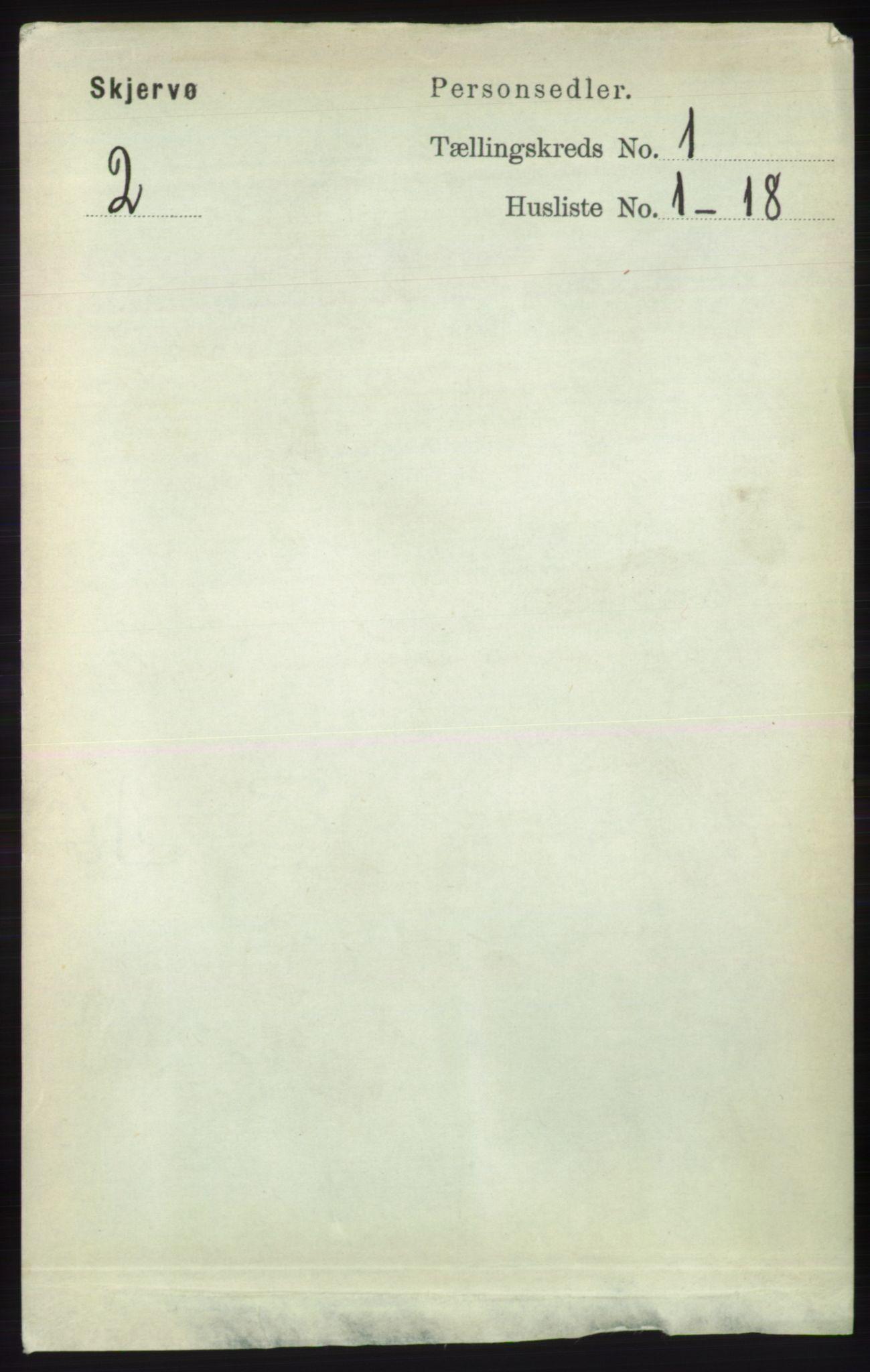 RA, Folketelling 1891 for 1941 Skjervøy herred, 1891, s. 124