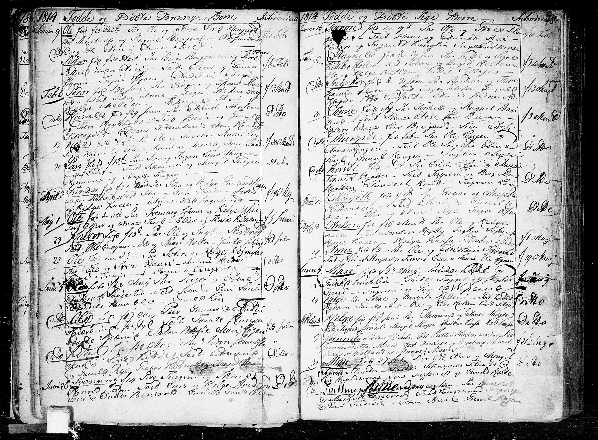 SAKO, Heddal kirkebøker, F/Fa/L0004: Ministerialbok nr. I 4, 1784-1814, s. 75