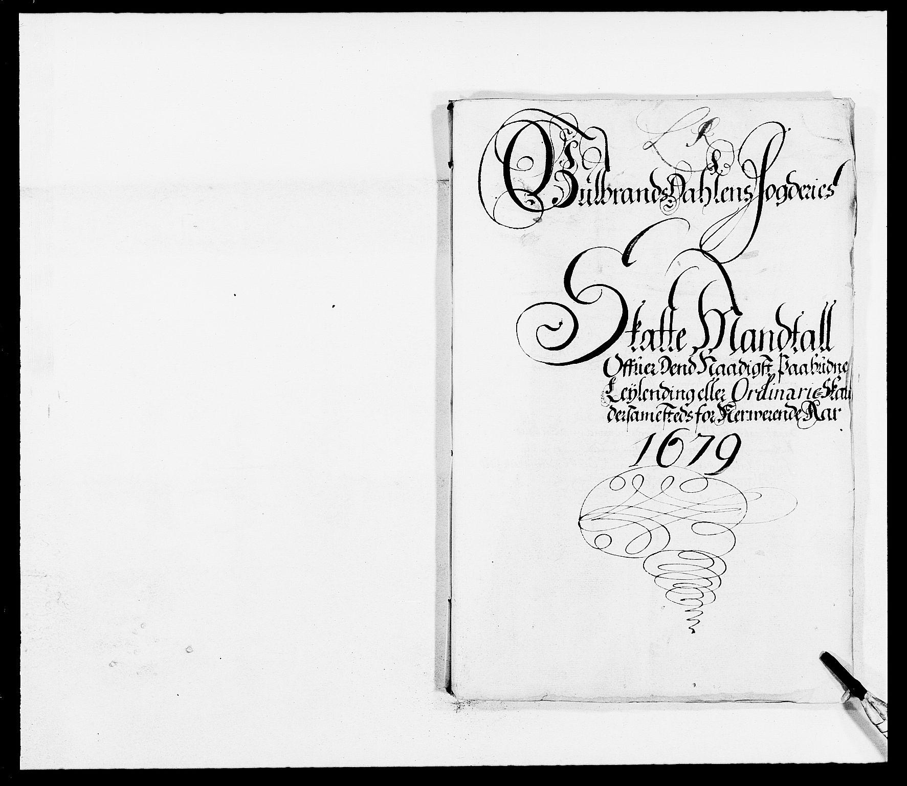 RA, Rentekammeret inntil 1814, Reviderte regnskaper, Fogderegnskap, R17/L1153: Fogderegnskap Gudbrandsdal, 1678-1679, s. 198