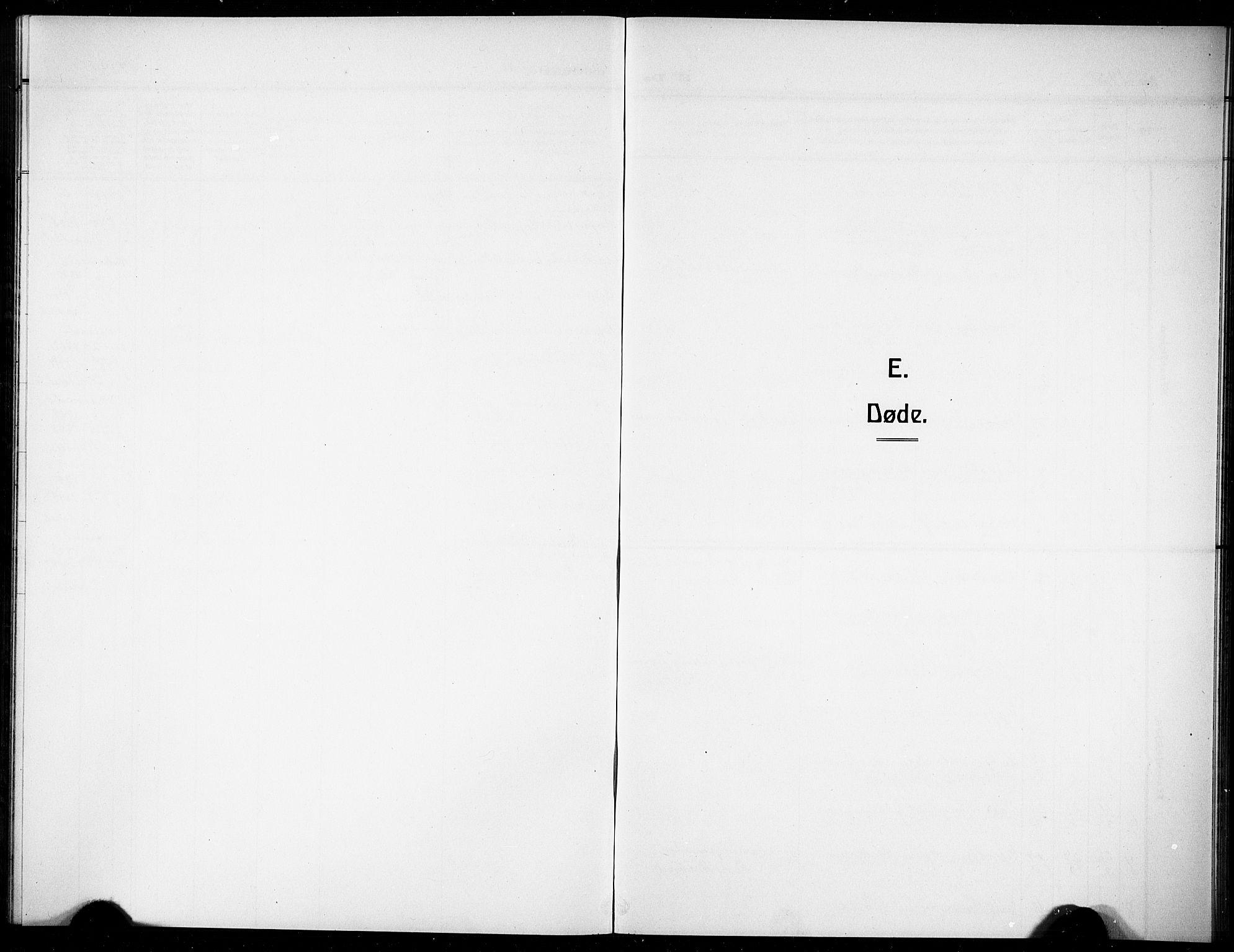 SAKO, Gjerpen kirkebøker, G/Gb/L0001: Klokkerbok nr. II 1, 1920-1929