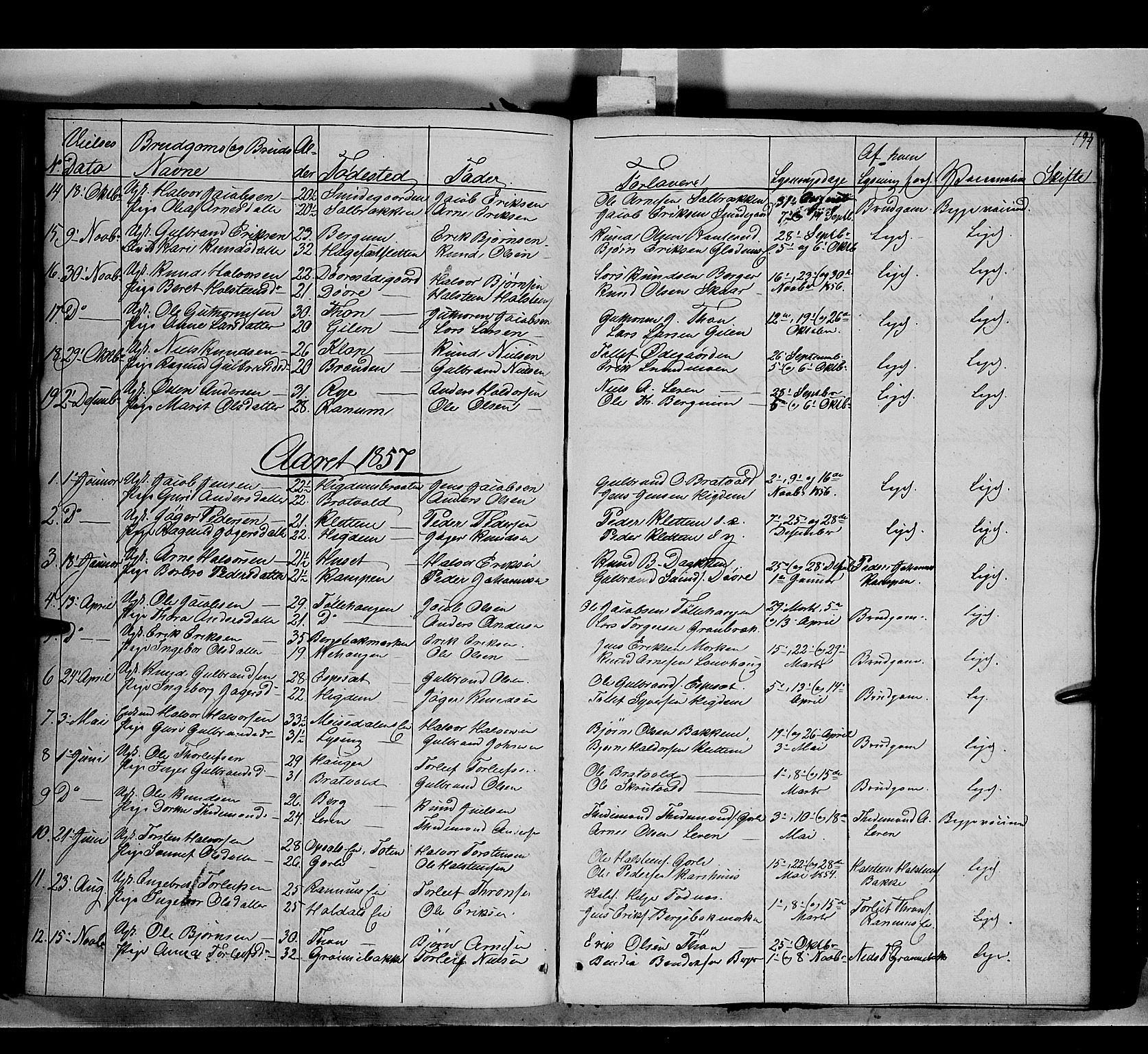 SAH, Nord-Aurdal prestekontor, Ministerialbok nr. 7, 1842-1863, s. 194