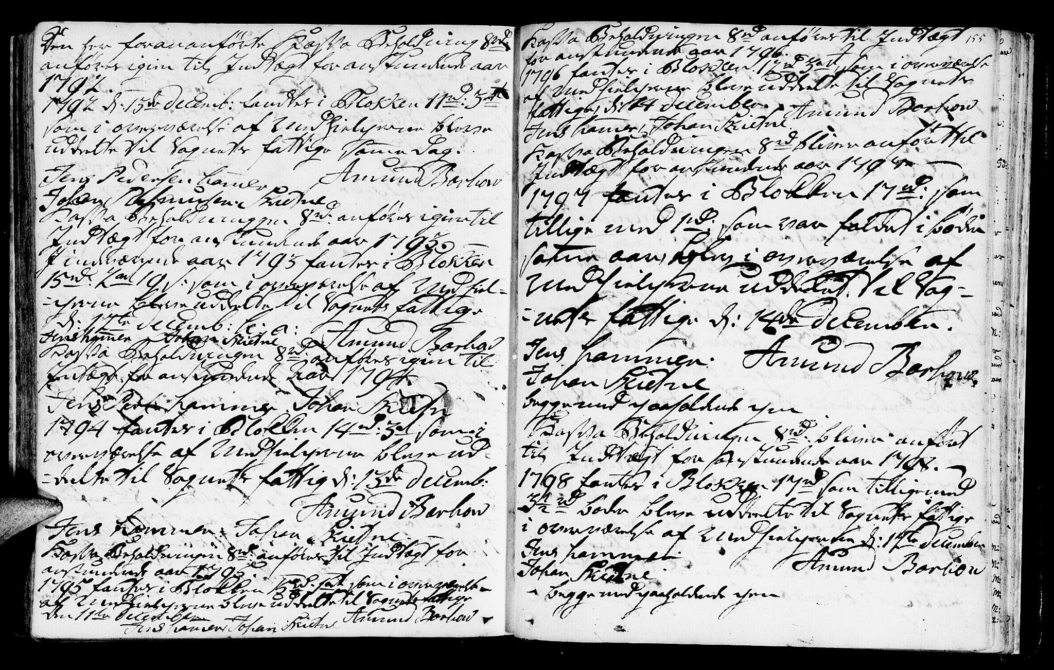 SAT, Ministerialprotokoller, klokkerbøker og fødselsregistre - Sør-Trøndelag, 665/L0768: Ministerialbok nr. 665A03, 1754-1803, s. 155