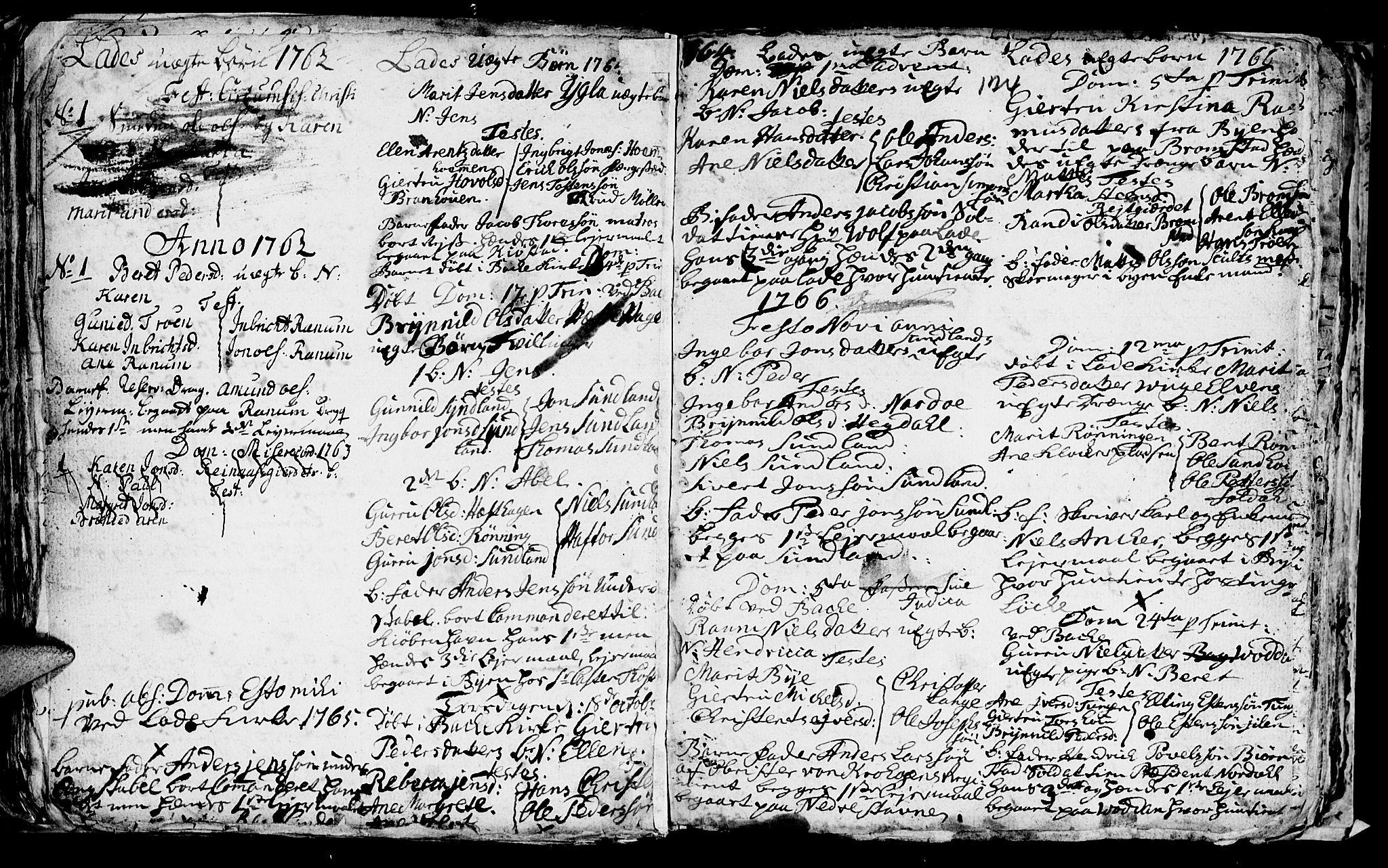 SAT, Ministerialprotokoller, klokkerbøker og fødselsregistre - Sør-Trøndelag, 606/L0305: Klokkerbok nr. 606C01, 1757-1819, s. 124
