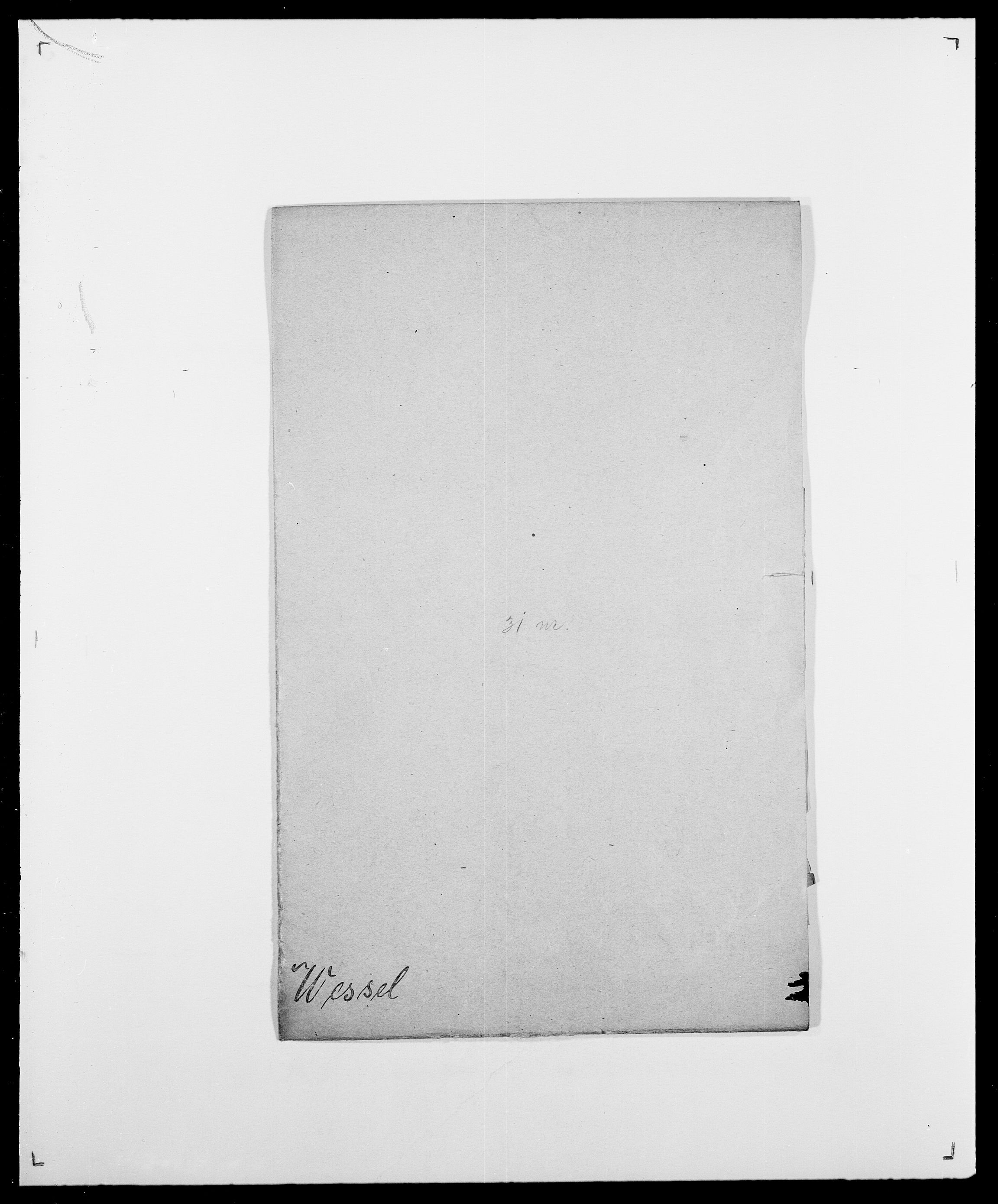 SAO, Delgobe, Charles Antoine - samling, D/Da/L0041: Vemmestad - Viker, s. 187