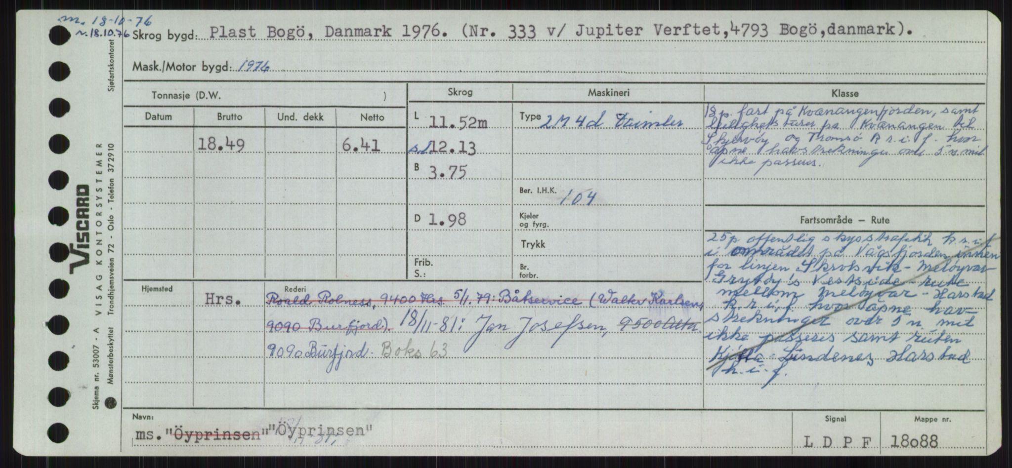 RA, Sjøfartsdirektoratet med forløpere, Skipsmålingen, H/Ha/L0006: Fartøy, Sver-Å, s. 836