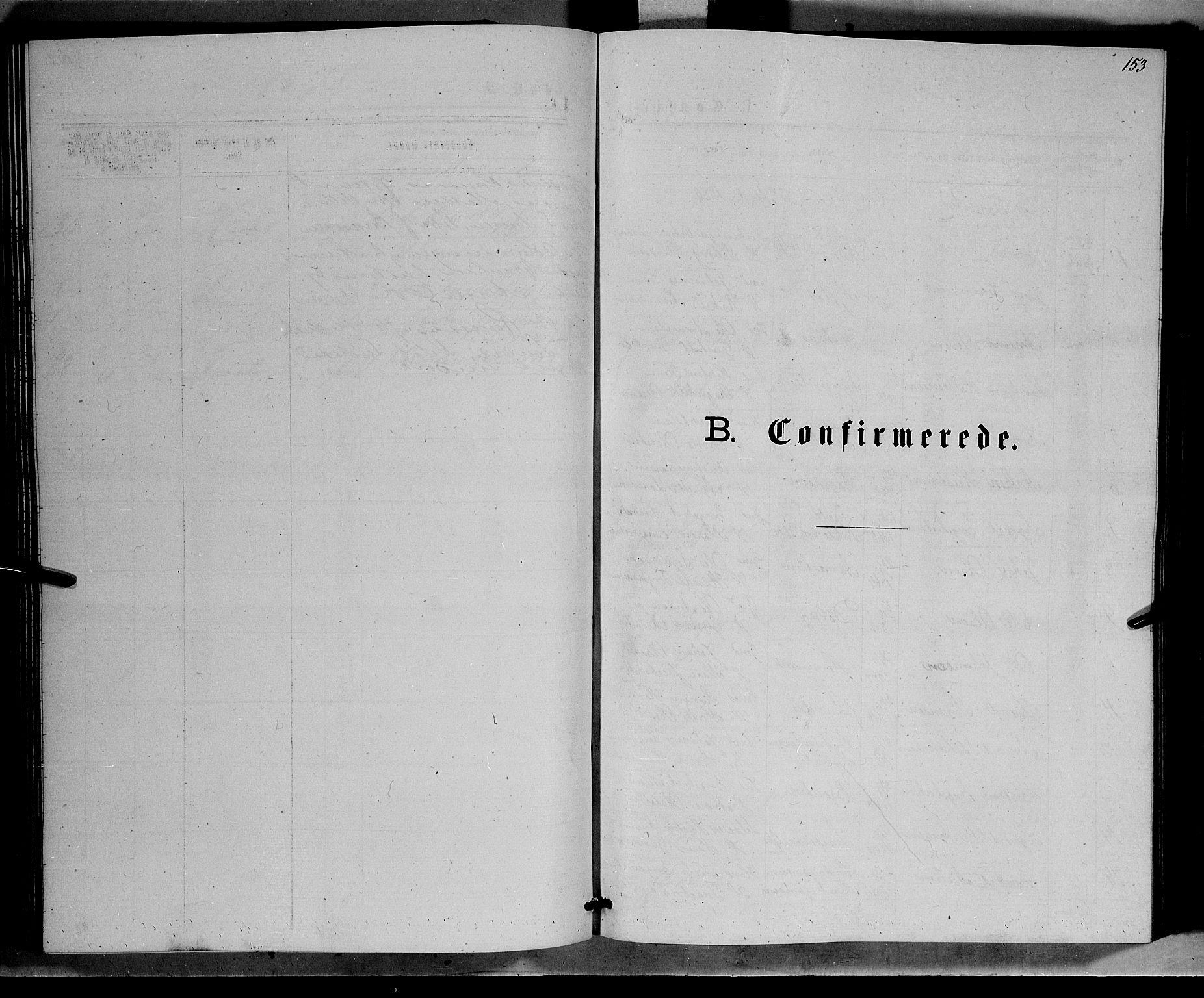 SAH, Ringebu prestekontor, Klokkerbok nr. 6, 1880-1898, s. 153