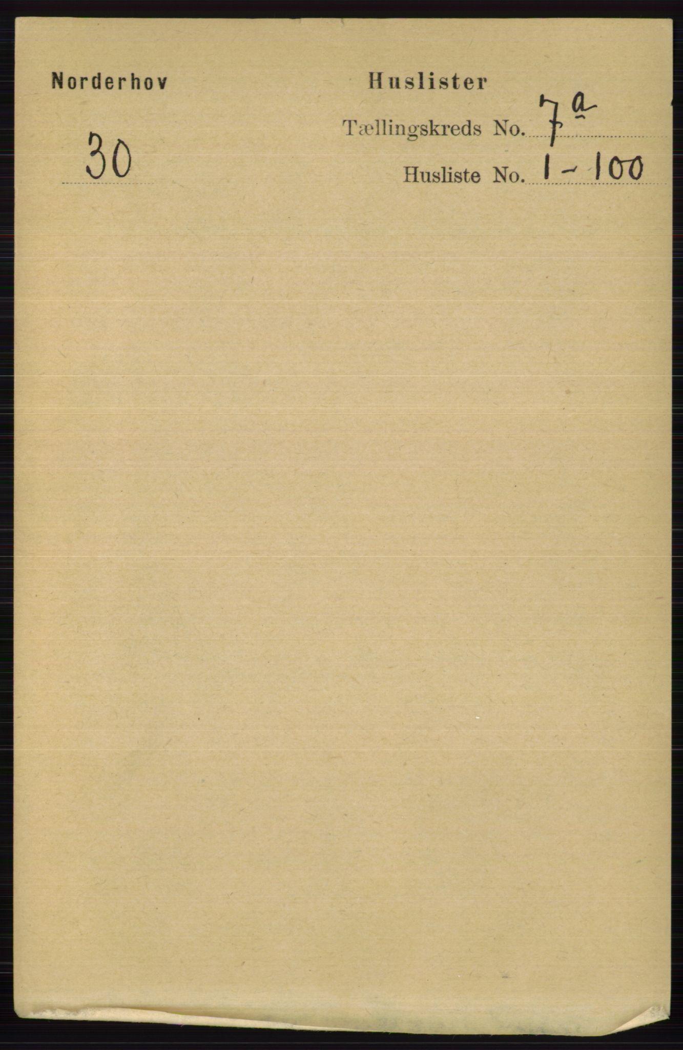 RA, Folketelling 1891 for 0613 Norderhov herred, 1891, s. 4386