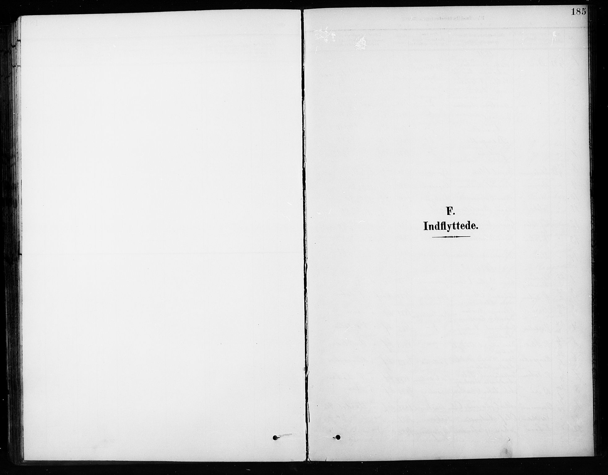 SAH, Vardal prestekontor, H/Ha/Hab/L0010: Klokkerbok nr. 10, 1895-1903, s. 185