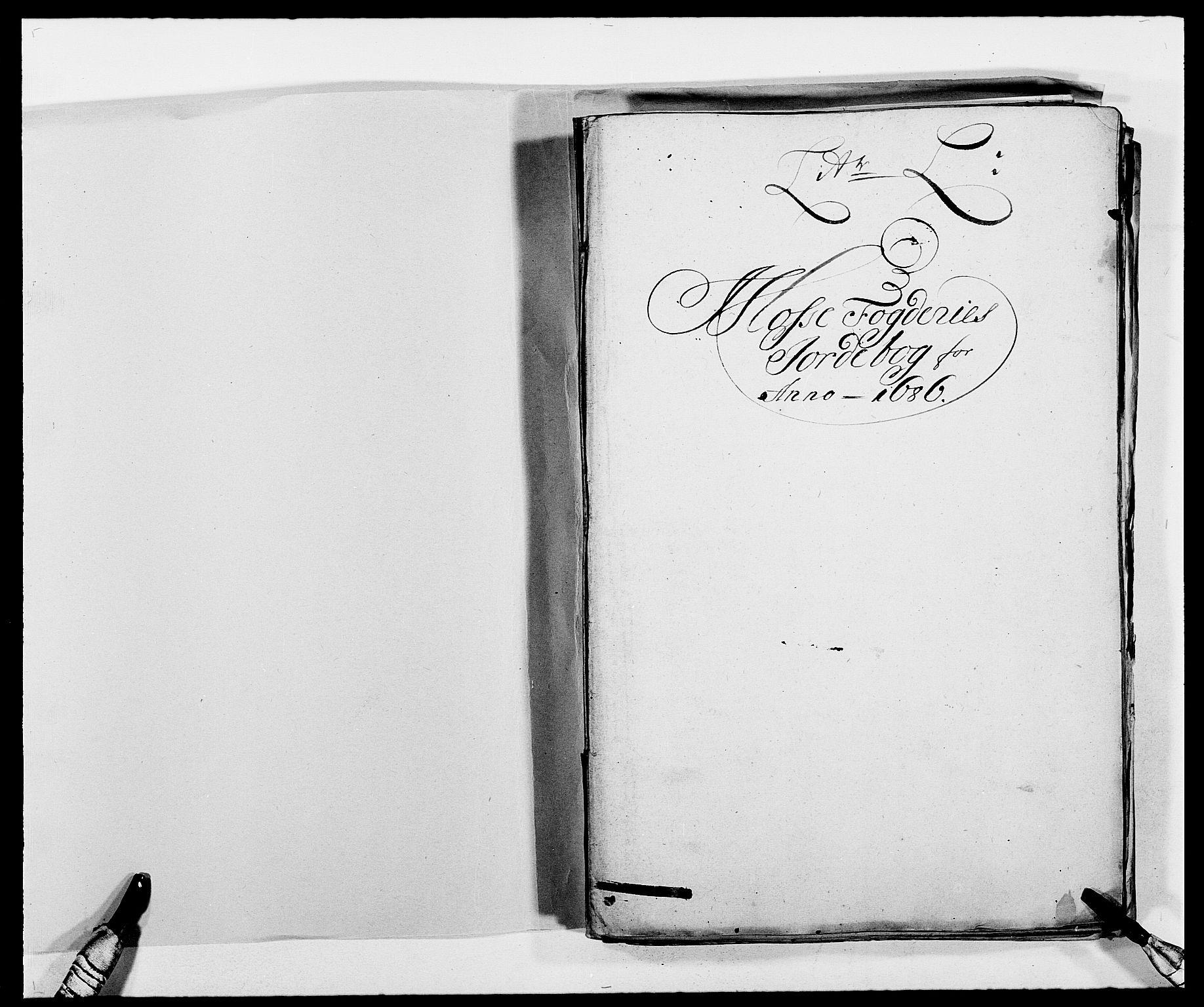 RA, Rentekammeret inntil 1814, Reviderte regnskaper, Fogderegnskap, R02/L0105: Fogderegnskap Moss og Verne kloster, 1685-1687, s. 133