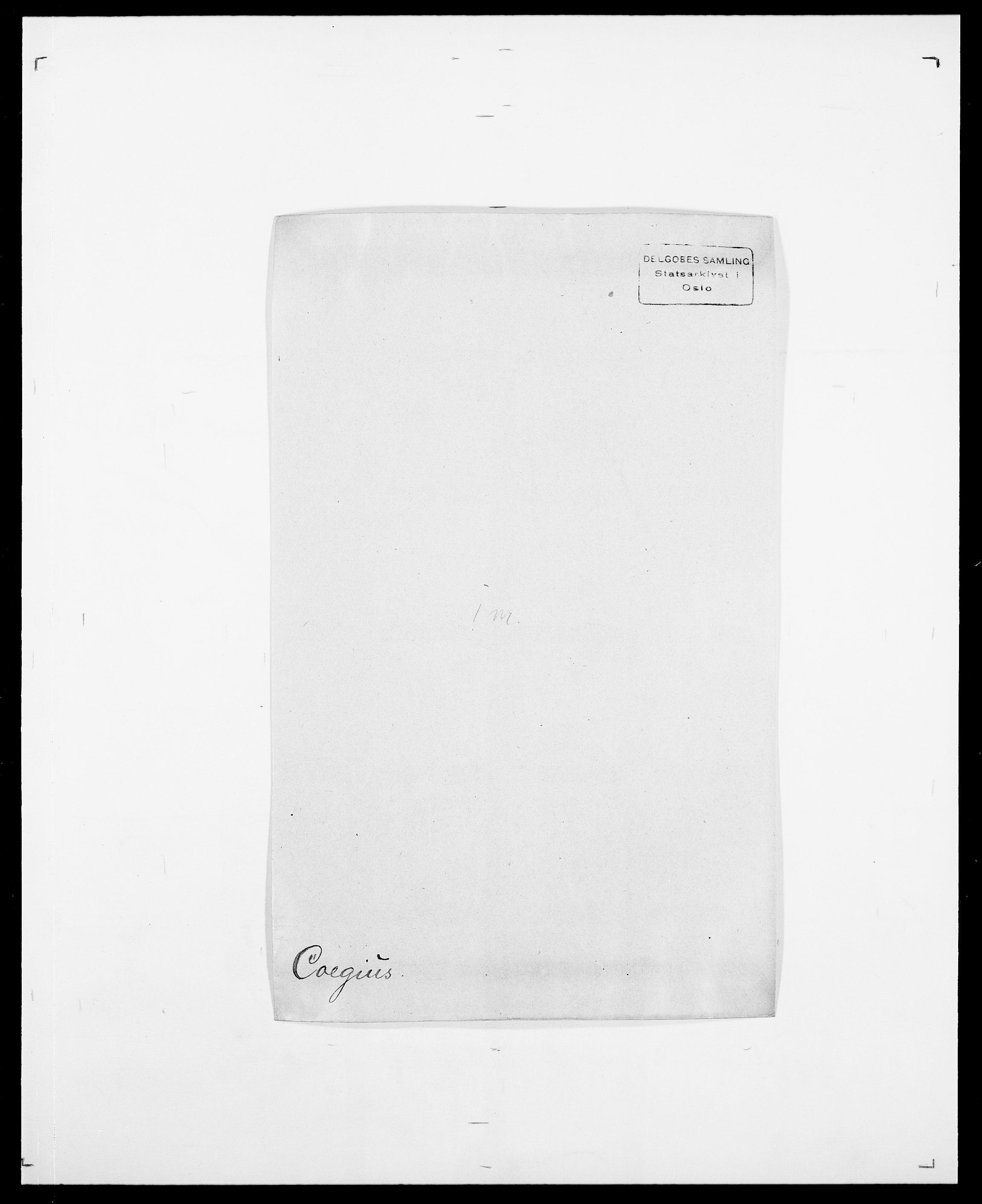 SAO, Delgobe, Charles Antoine - samling, D/Da/L0008: Capjon - Dagenbolt, s. 395