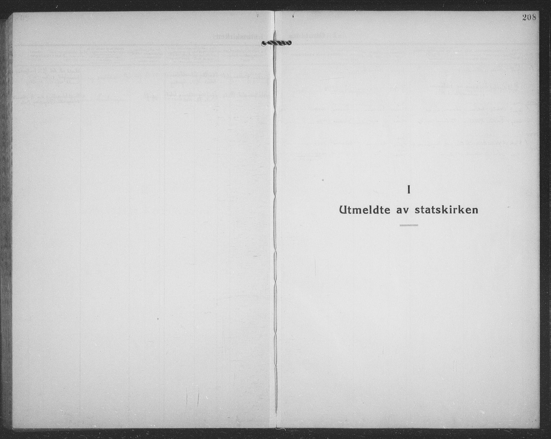SATØ, Tranøy sokneprestkontor, I/Ia/Iab/L0024klokker: Klokkerbok nr. 24, 1929-1943, s. 208