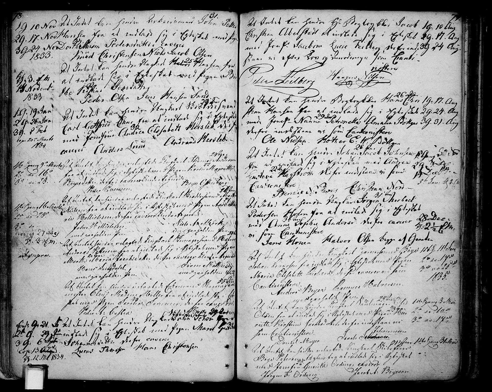 SAKO, Skien kirkebøker, F/Fa/L0004: Ministerialbok nr. 4, 1792-1814, s. 78-79