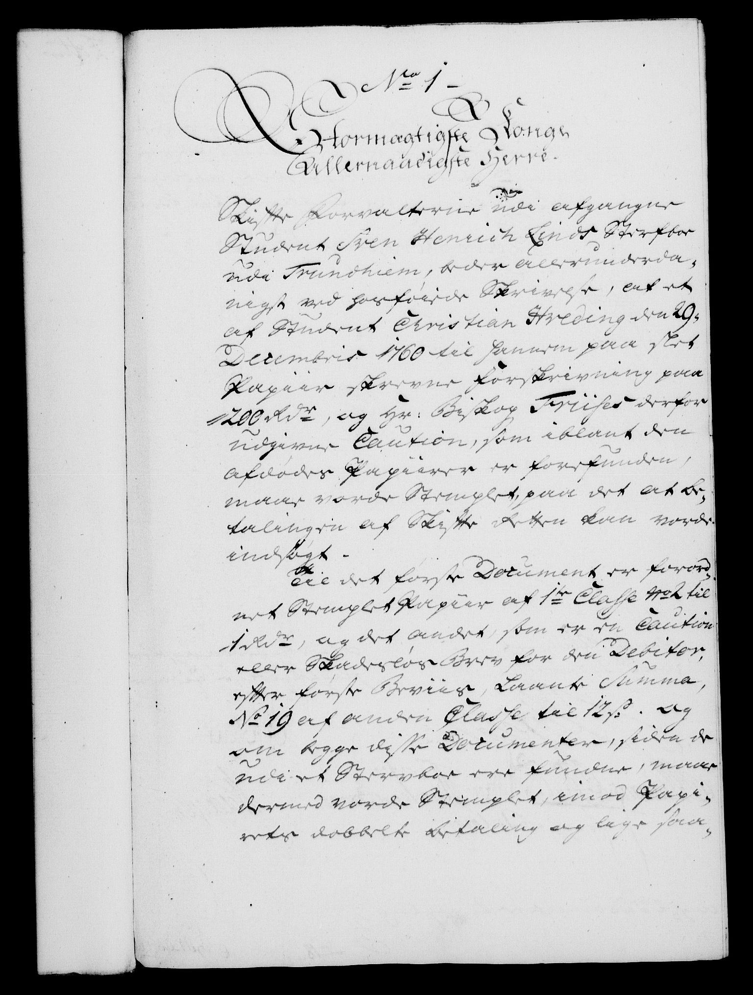 RA, Rentekammeret, Kammerkanselliet, G/Gf/Gfa/L0045: Norsk relasjons- og resolusjonsprotokoll (merket RK 52.45), 1763, s. 27