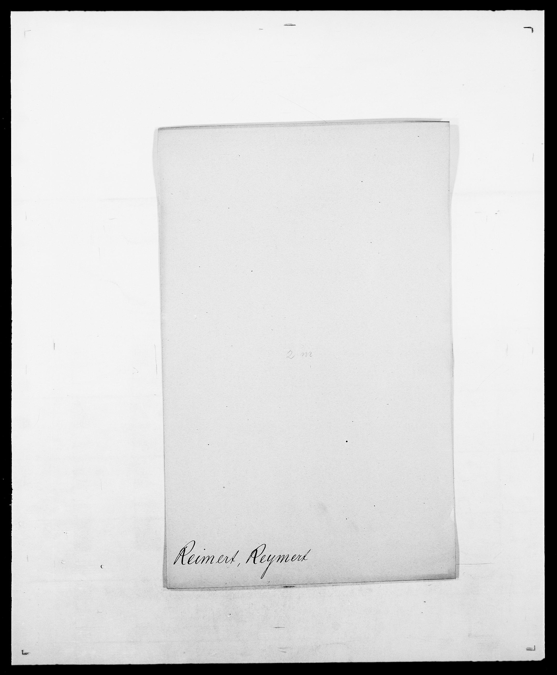 SAO, Delgobe, Charles Antoine - samling, D/Da/L0032: Rabakovsky - Rivertz, s. 357