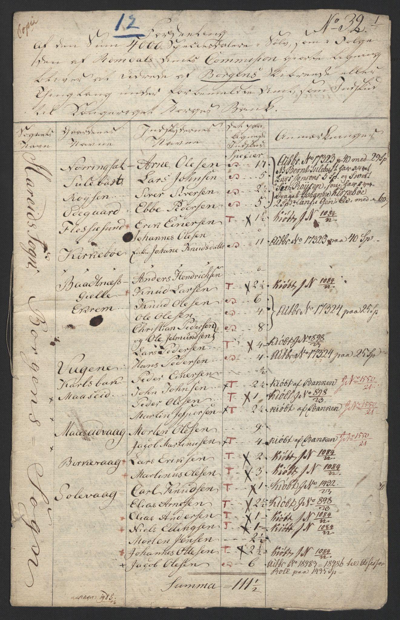 NOBA, Norges Bank/Sølvskatten 1816*, 1816, s. 110