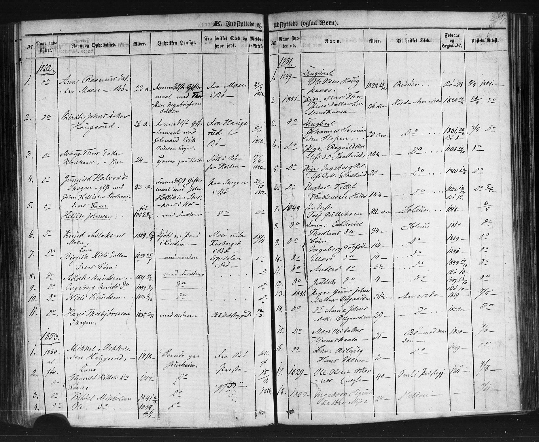 SAKO, Sauherad kirkebøker, F/Fb/L0001: Ministerialbok nr. II 1, 1851-1877, s. 187