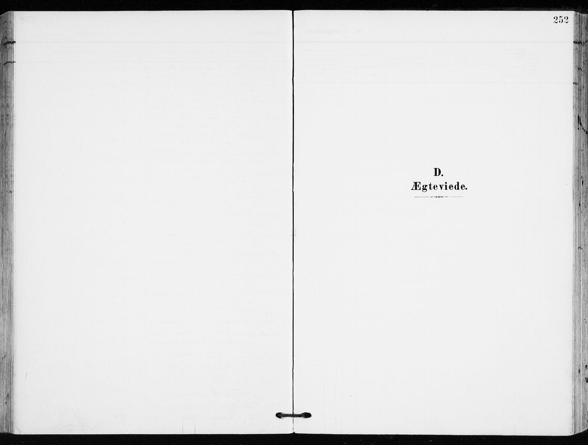 SAKO, Kongsberg kirkebøker, F/Fb/L0004: Ministerialbok nr. II 4, 1906-1918, s. 252
