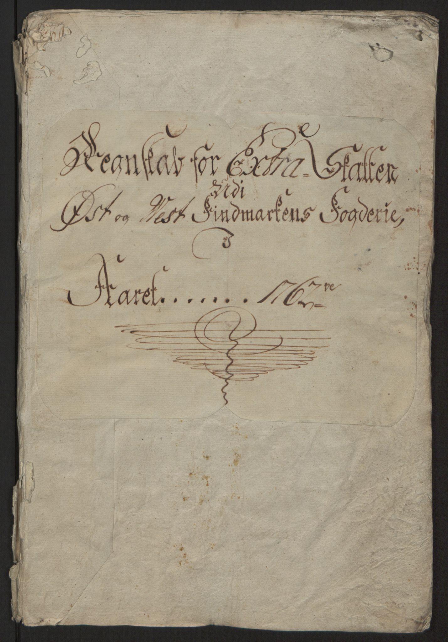 RA, Rentekammeret inntil 1814, Reviderte regnskaper, Fogderegnskap, R69/L4910: Ekstraskatten  Finnmark/Vardøhus, 1762-1772, s. 5