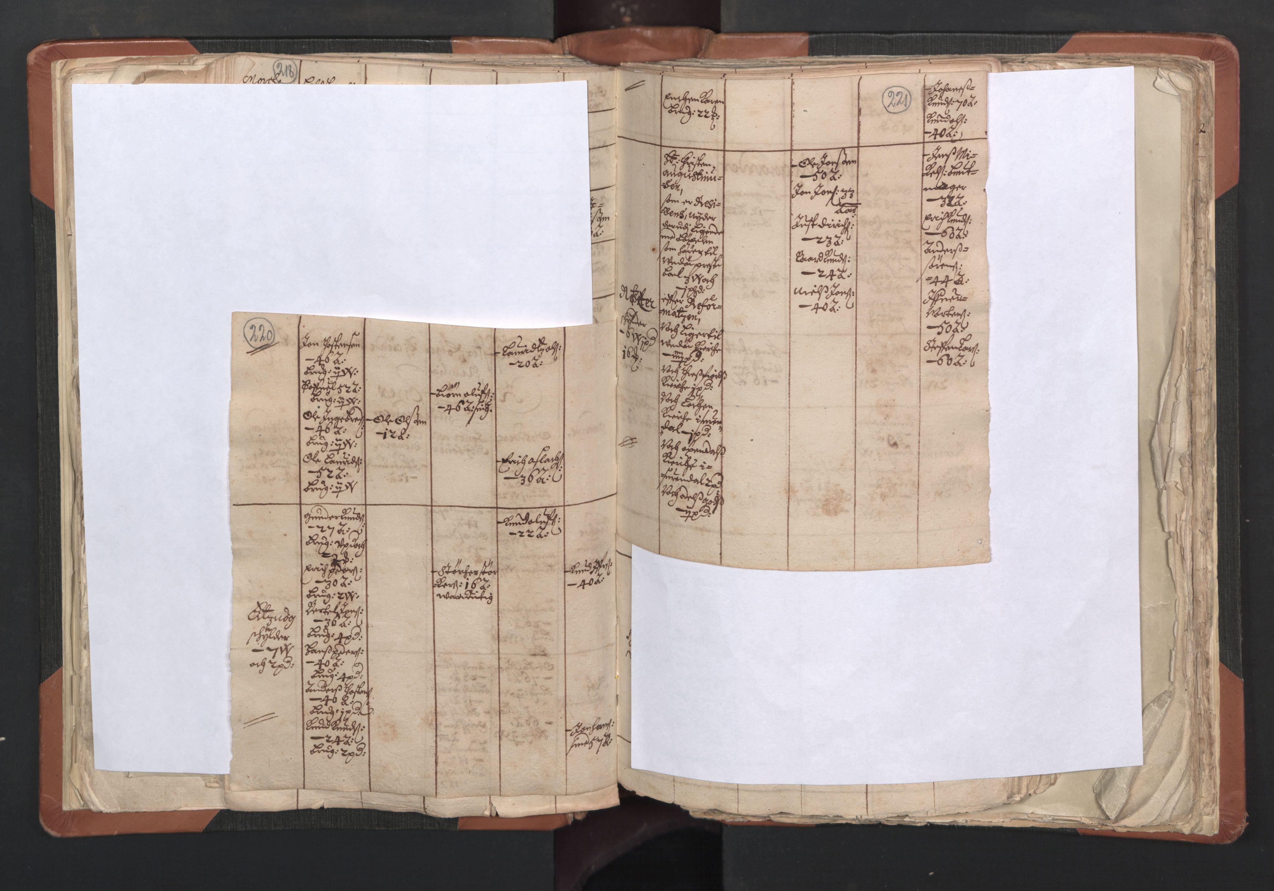 RA, Sogneprestenes manntall 1664-1666, nr. 27: Romsdal prosti, 1664-1666, s. 220-221