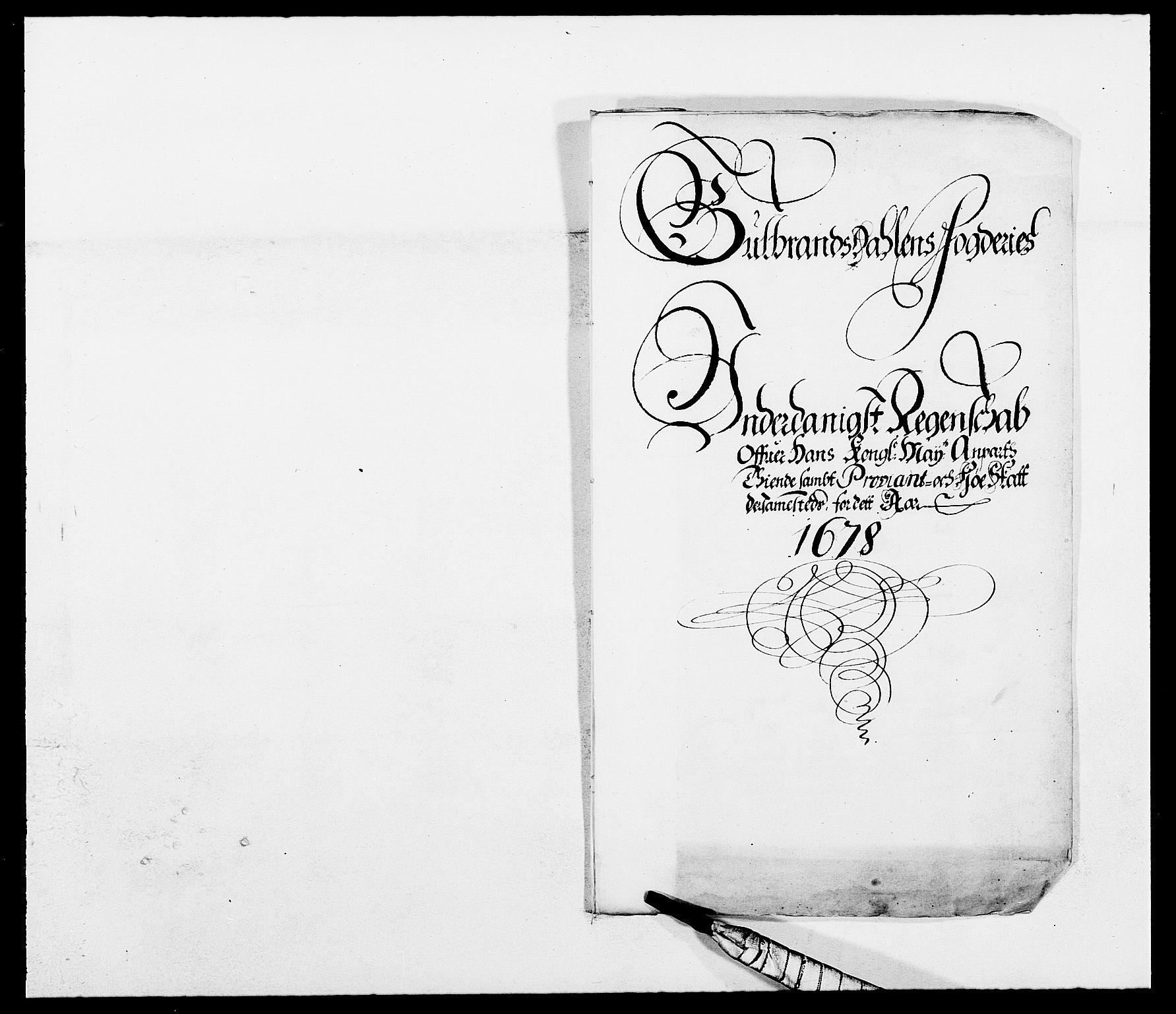 RA, Rentekammeret inntil 1814, Reviderte regnskaper, Fogderegnskap, R17/L1152: Fogderegnskap Gudbrandsdal, 1678-1679, s. 21